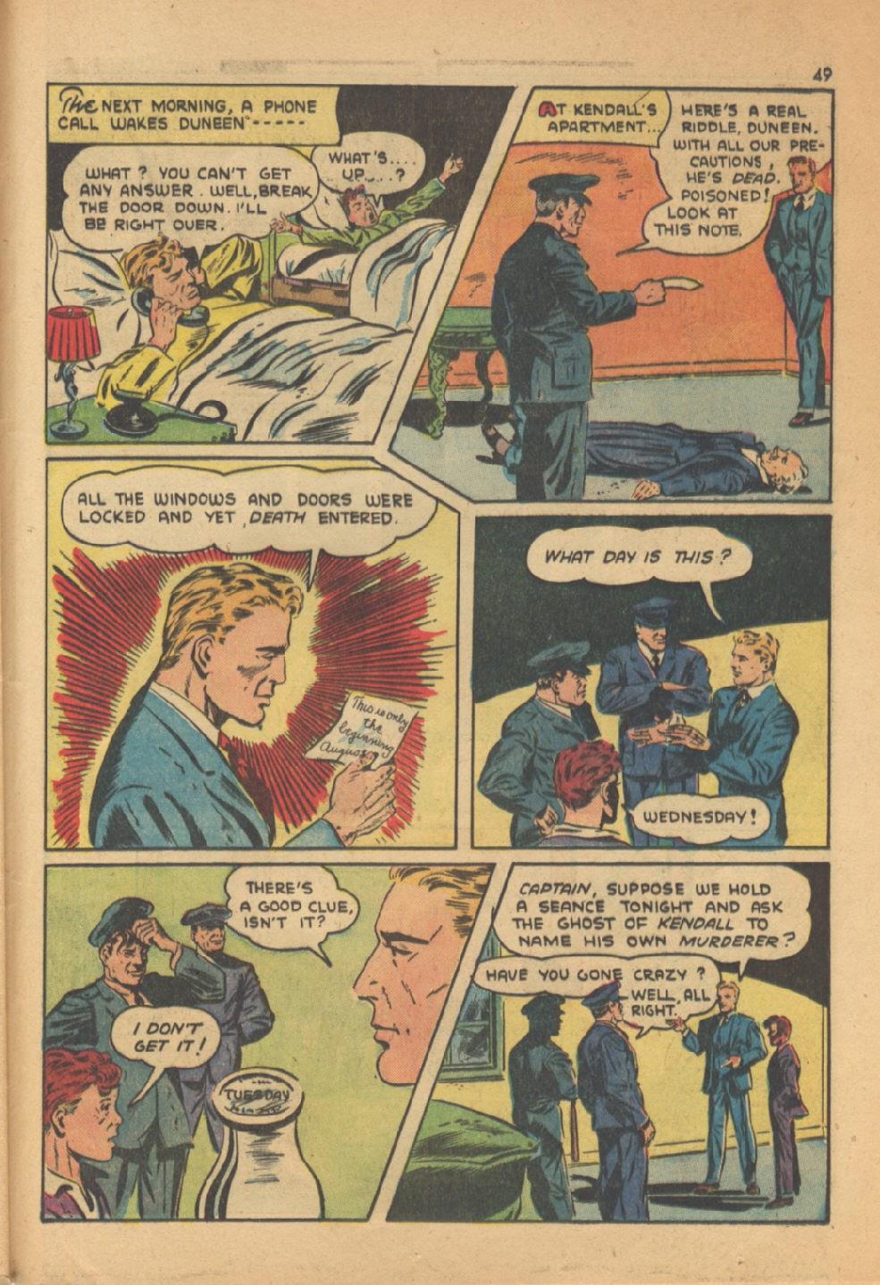 Read online Super-Magician Comics comic -  Issue #13 - 49