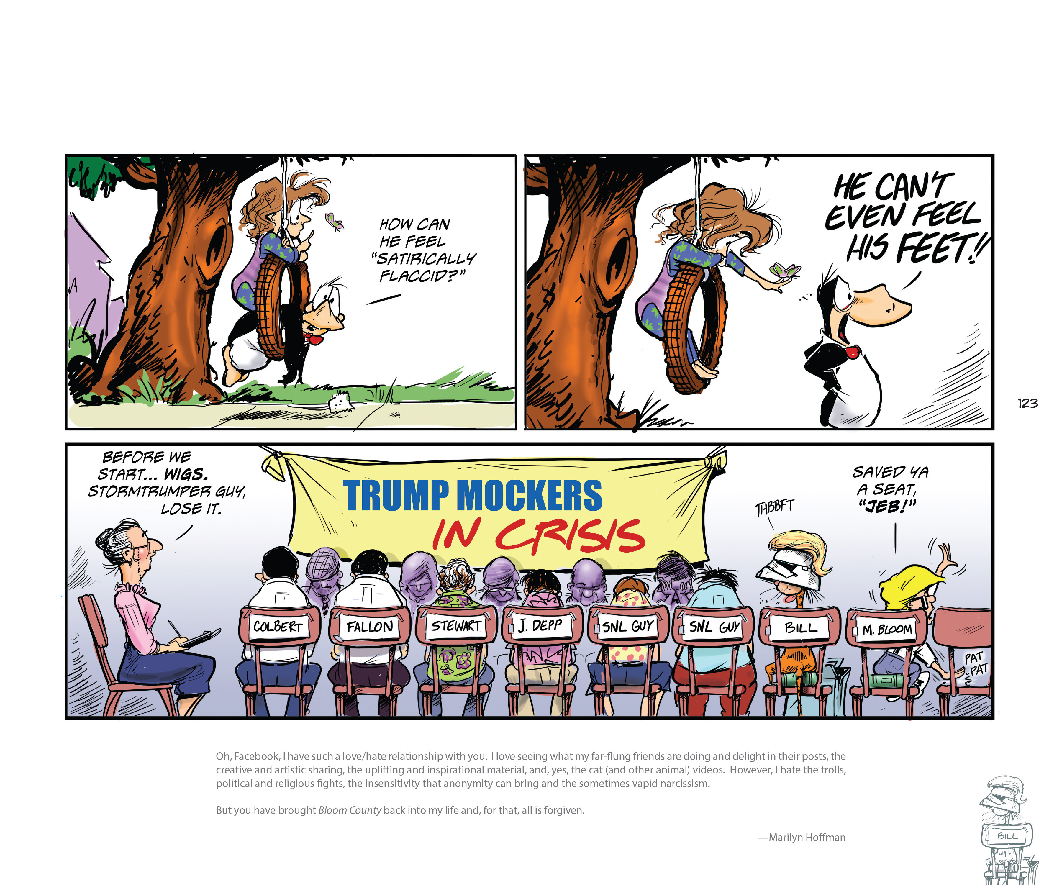 Read online Bloom County Episode XI: A New Hope comic -  Issue # Full - 125