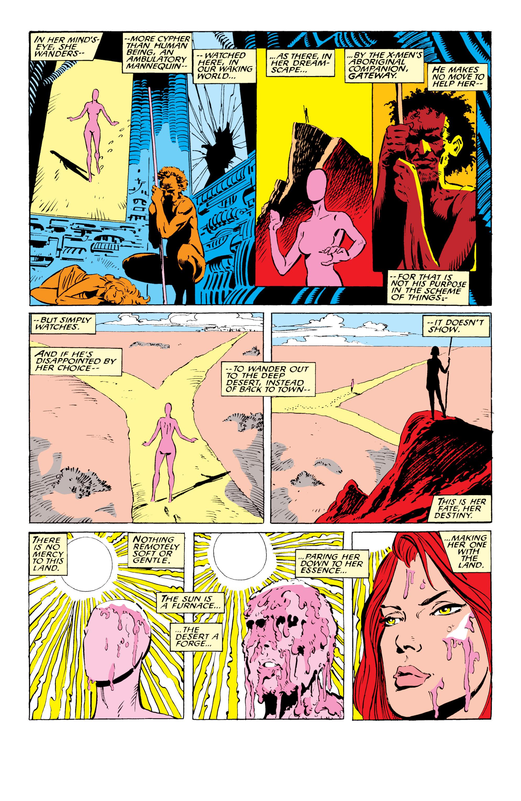 Read online Uncanny X-Men (1963) comic -  Issue #234 - 9