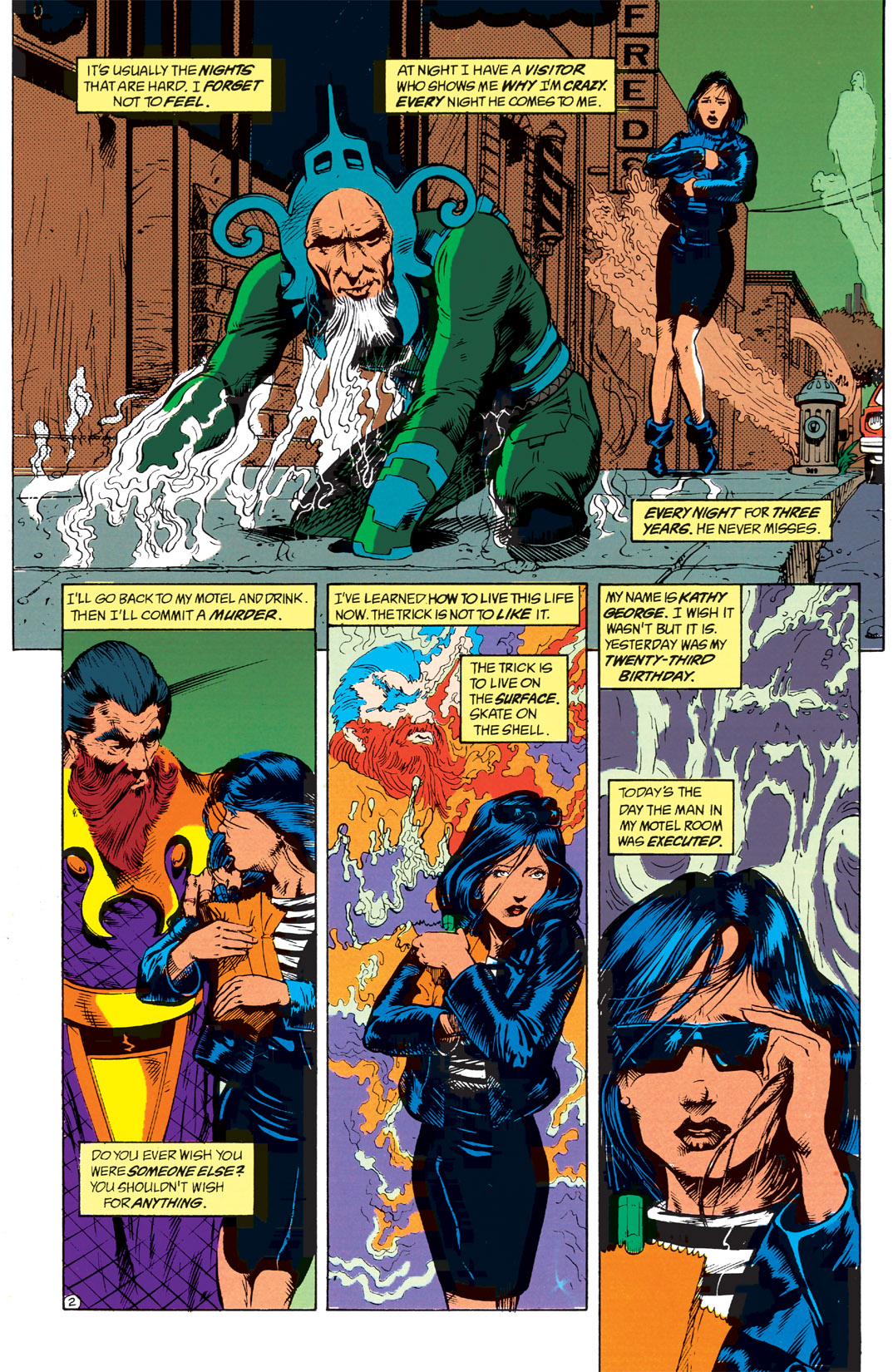 Read online Shade, the Changing Man comic -  Issue #1 - 4