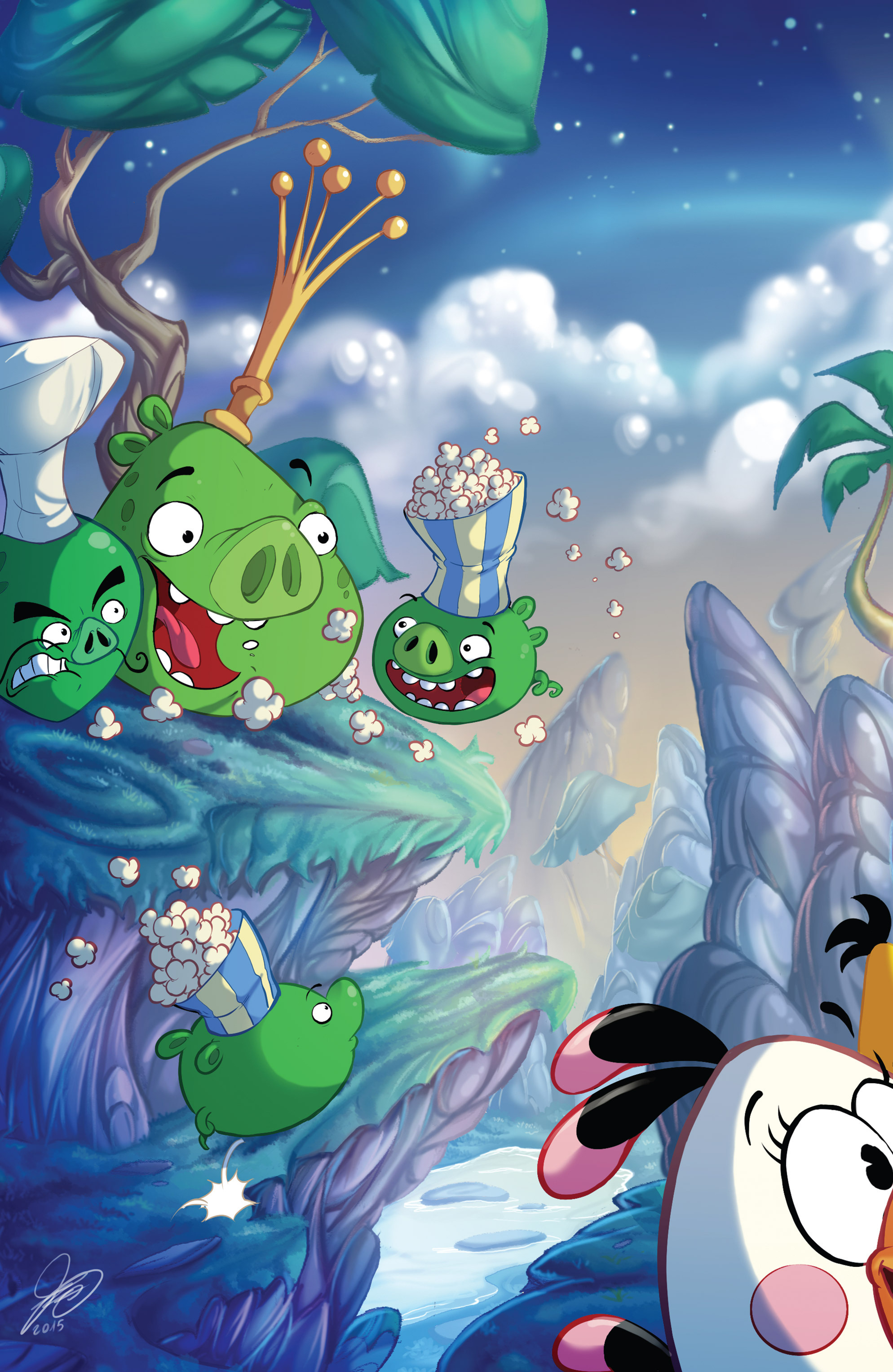 Read online Angry Birds Comics (2016) comic -  Issue #5 - 24