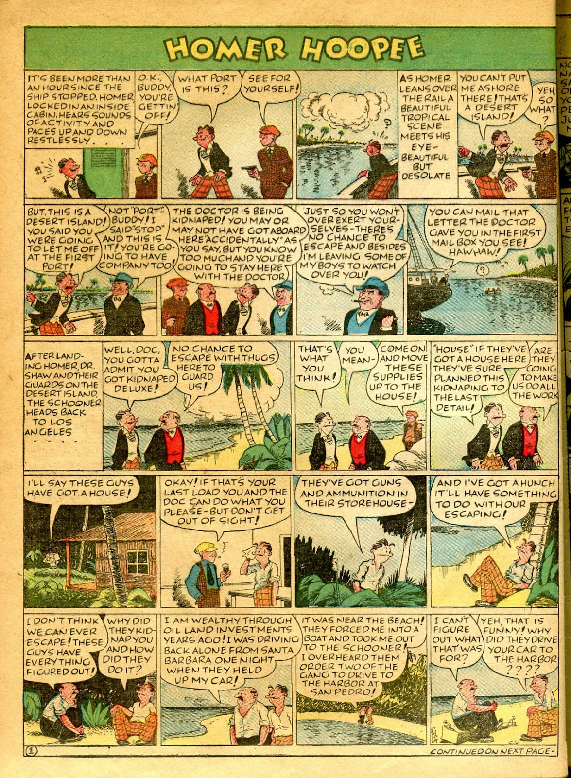 Read online Famous Funnies comic -  Issue #41 - 62