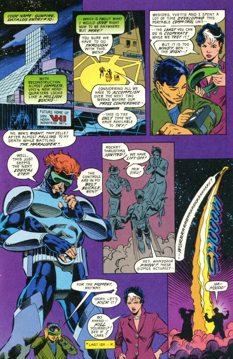 Read online Gunfire comic -  Issue #5 - 11