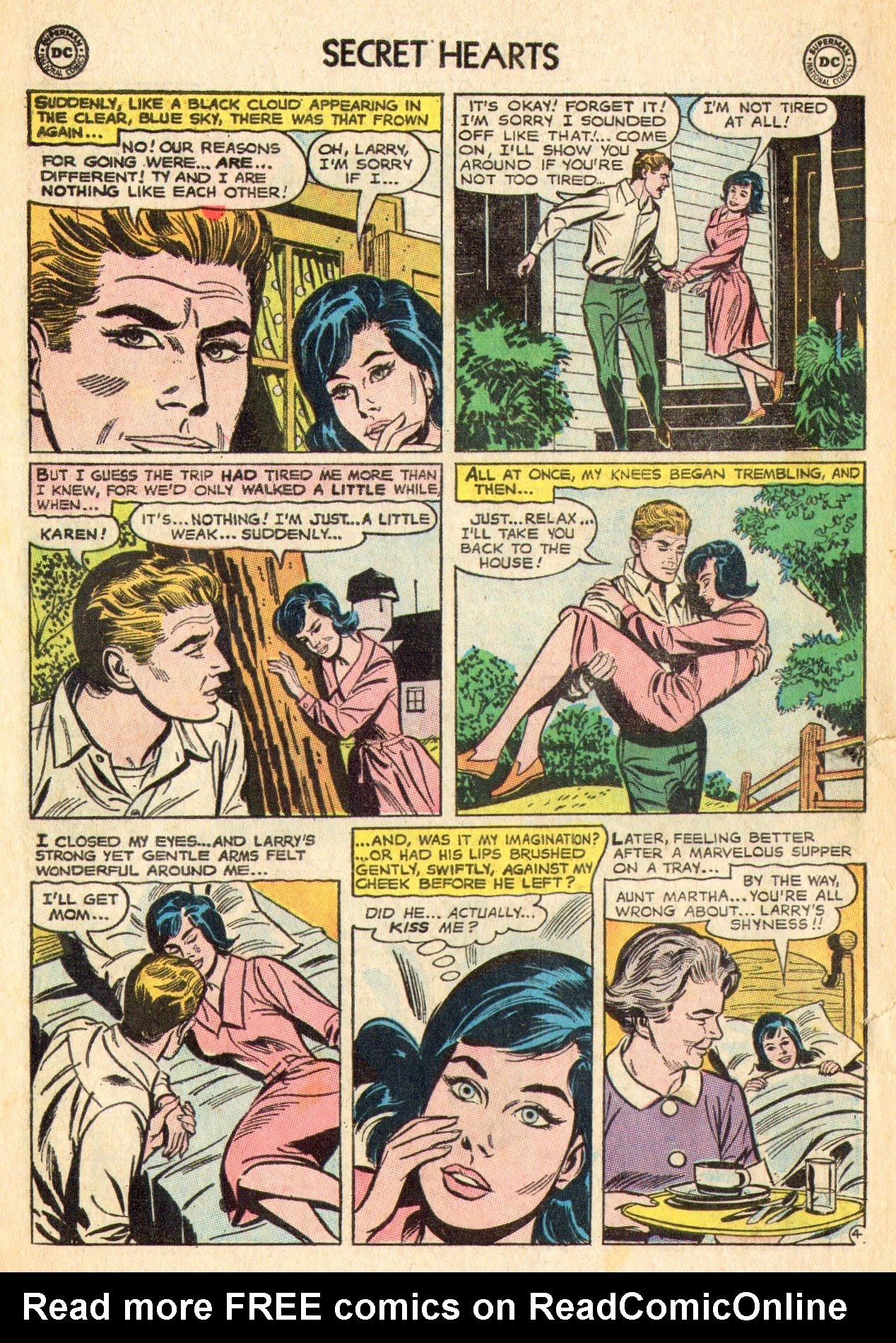 Read online Secret Hearts comic -  Issue #101 - 6