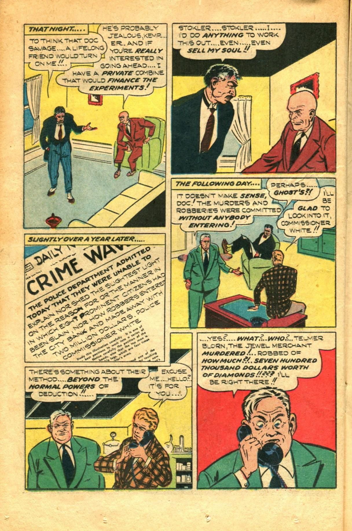 Read online Shadow Comics comic -  Issue #91 - 24