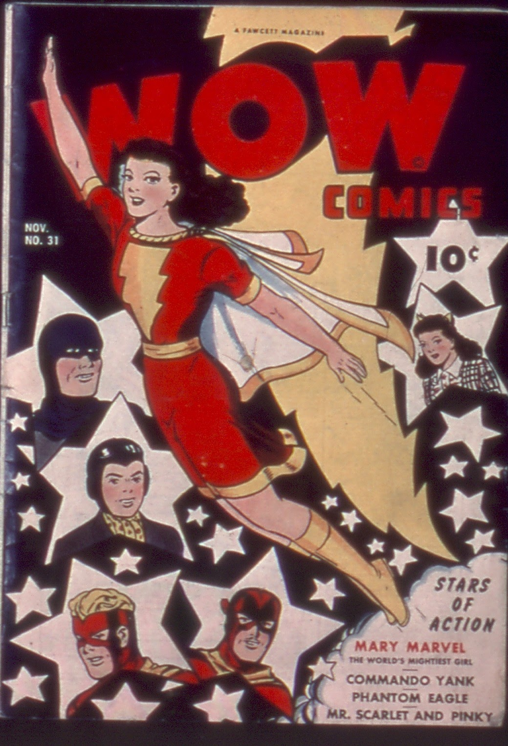 Wow Comics 31 Page 1