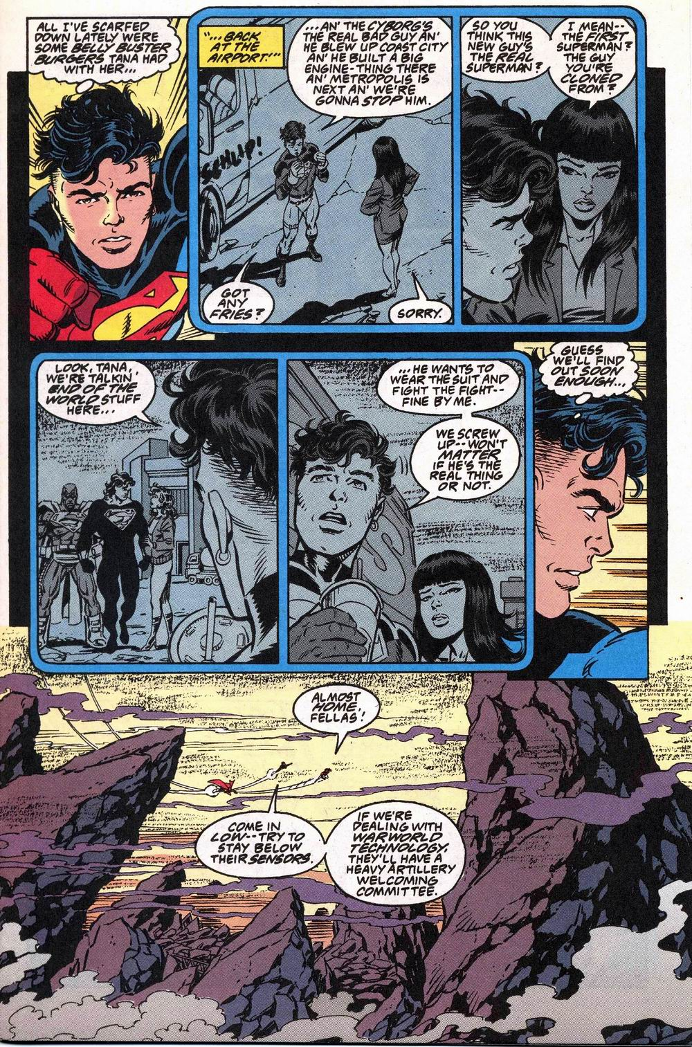 Read online Adventures of Superman (1987) comic -  Issue #504 - 4