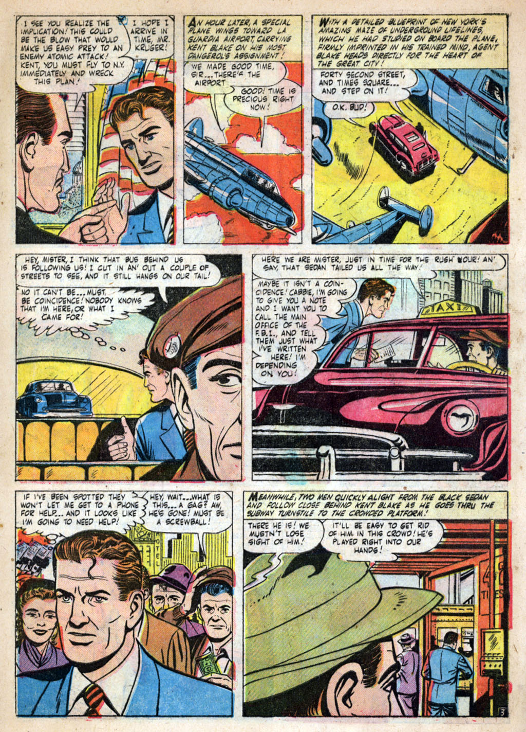 Kent Blake of the Secret Service issue 4 - Page 5