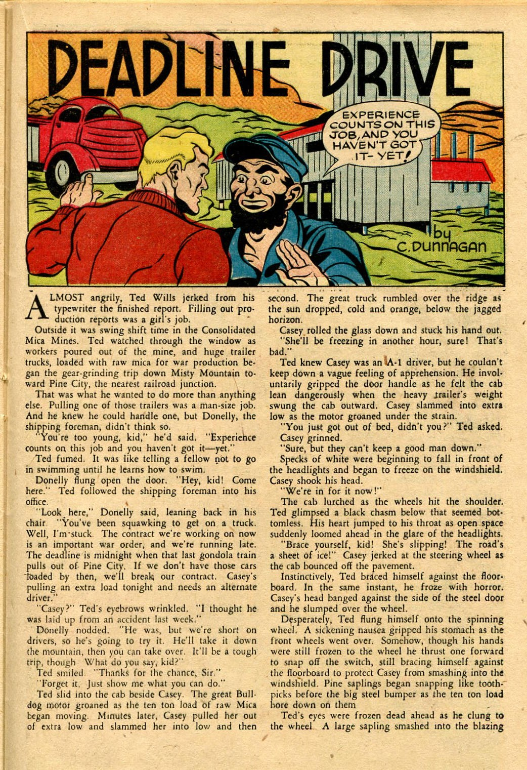 Read online Famous Funnies comic -  Issue #116 - 35