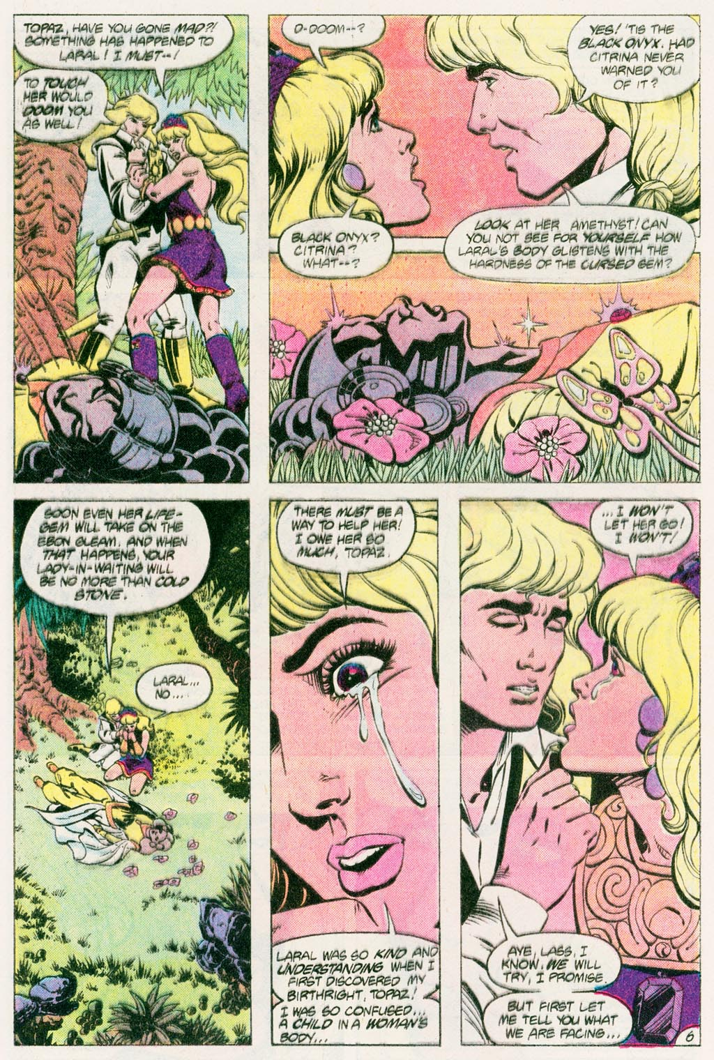 Read online Amethyst (1985) comic -  Issue #12 - 9