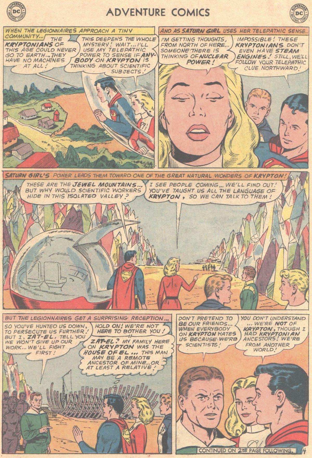 Read online Adventure Comics (1938) comic -  Issue #333 - 5