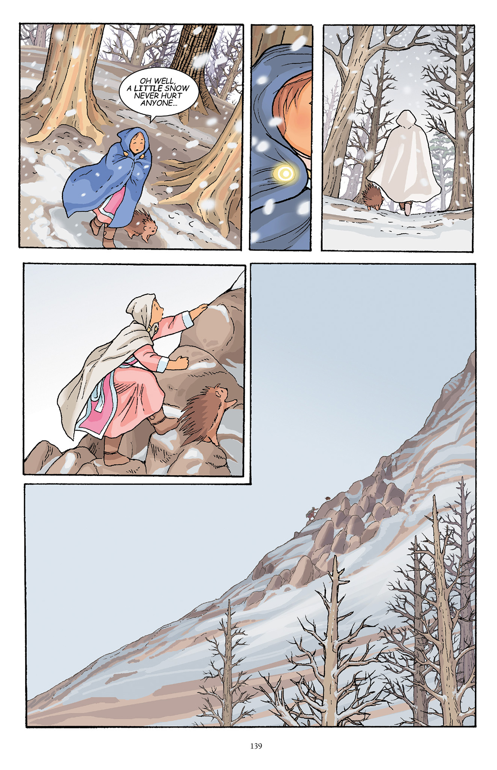 Read online Courageous Princess comic -  Issue # TPB 1 - 138