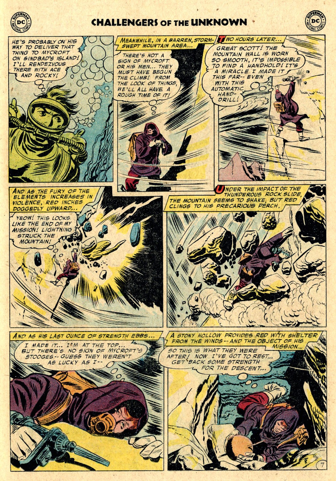 Challengers of the Unknown (1958) issue 3 - Page 11