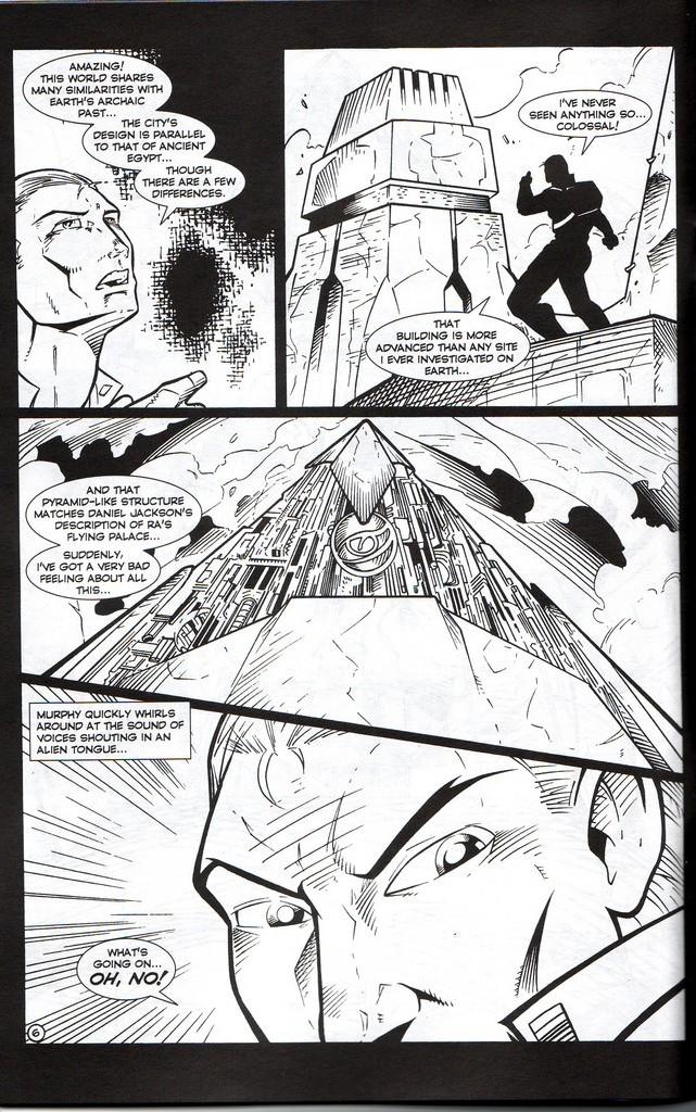 Read online Stargate: One Nation Under Ra comic -  Issue # Full - 8