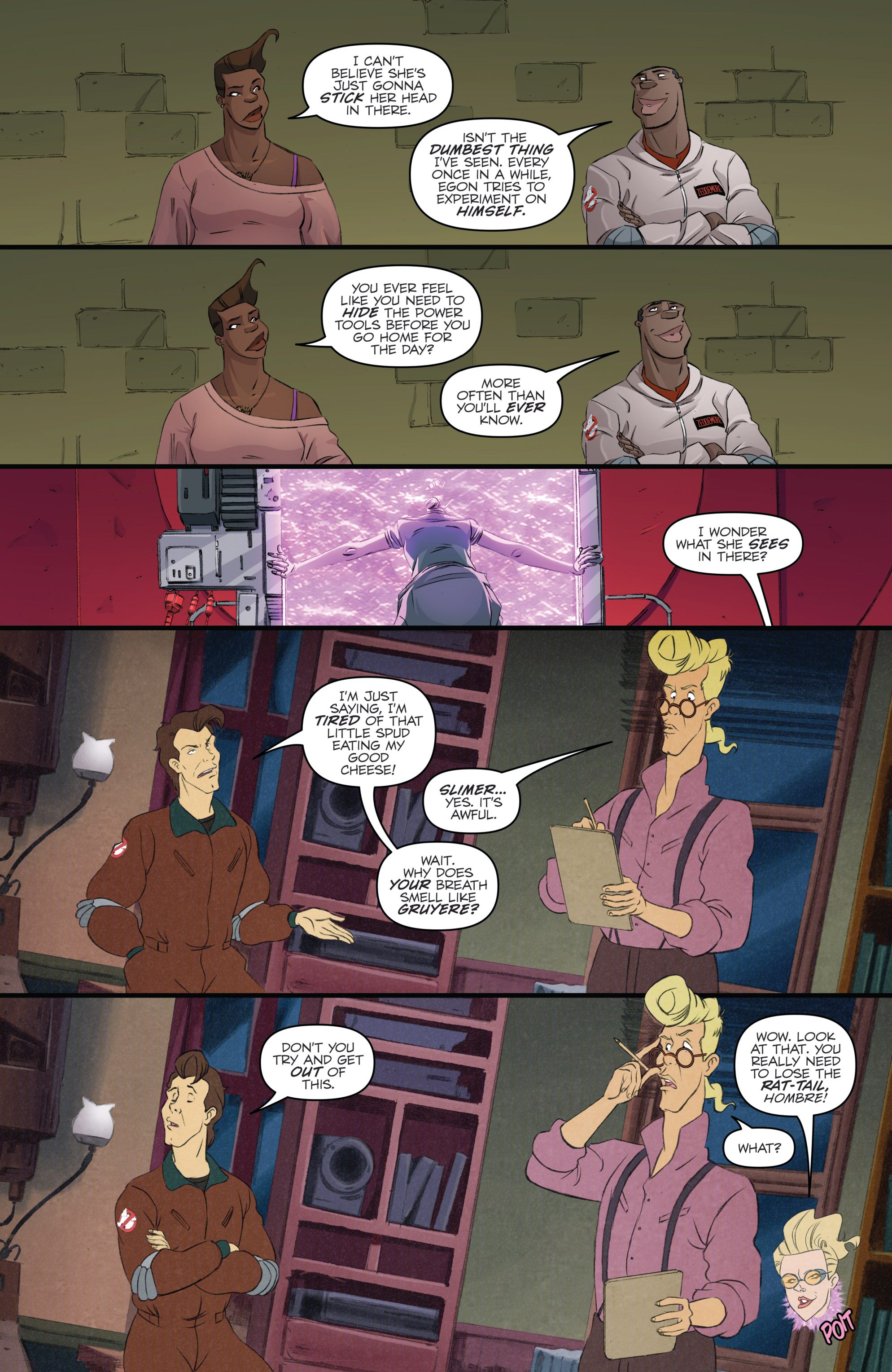 Read online Ghostbusters 101 comic -  Issue #3 - 20