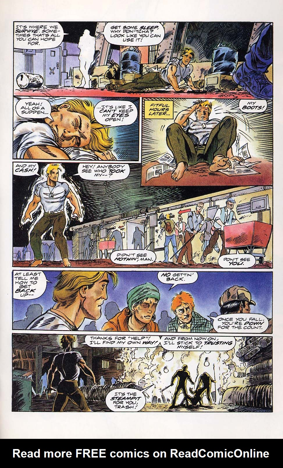 Read online Charlemagne comic -  Issue #4 - 22