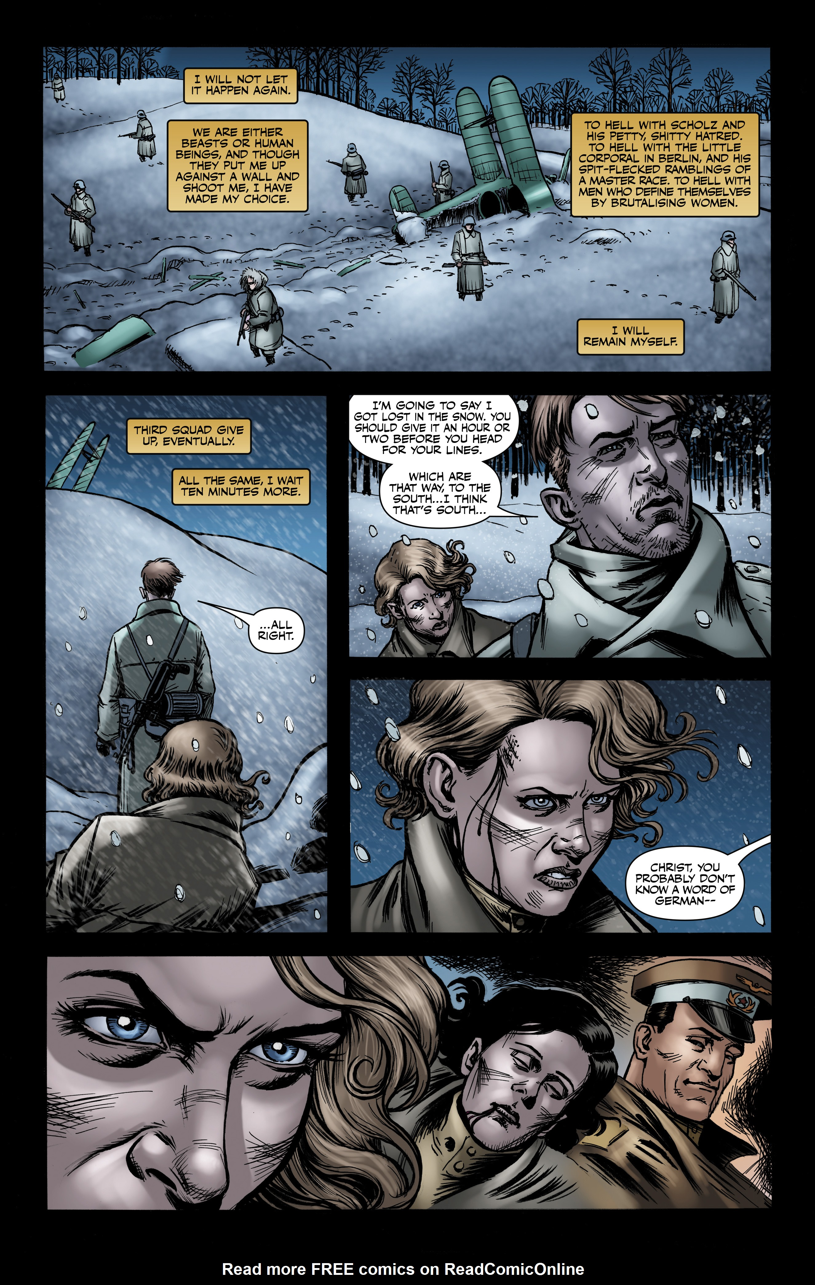 Read online Battlefields: Night Witches comic -  Issue # TPB - 67