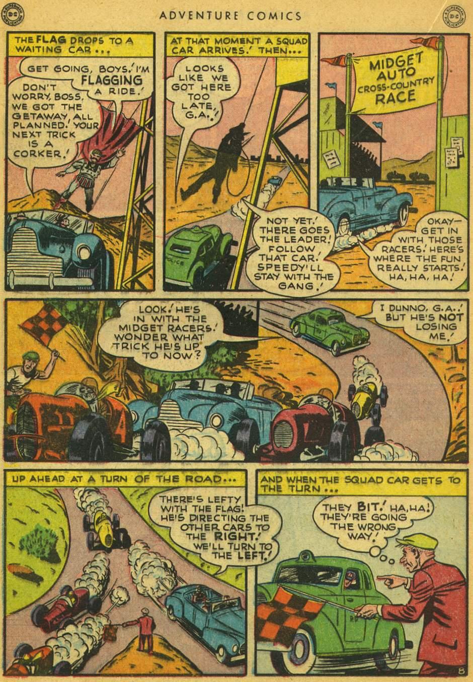Read online Adventure Comics (1938) comic -  Issue #128 - 21
