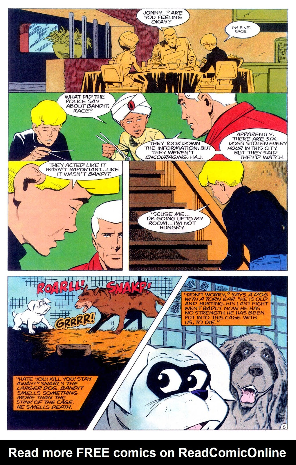 Jonny Quest (1986) issue 11 - Page 9