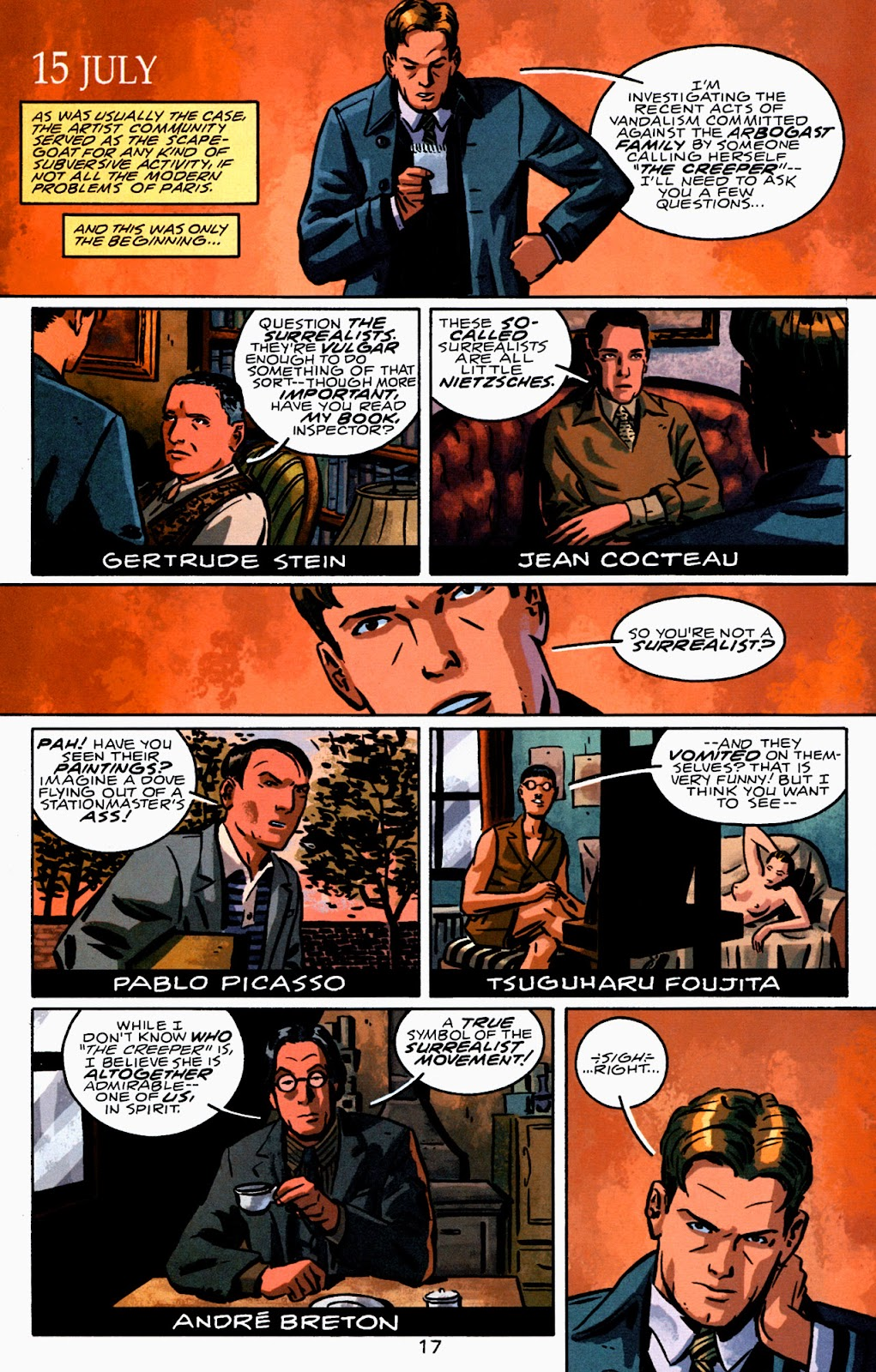Read online Beware The Creeper (2003) comic -  Issue #2 - 18