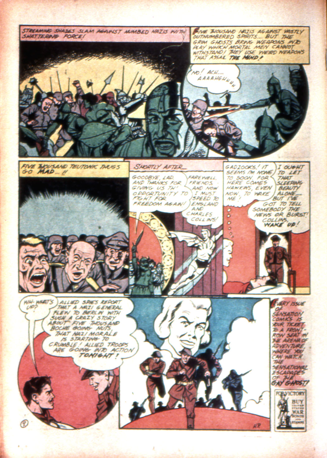 Read online Sensation (Mystery) Comics comic -  Issue #17 - 34