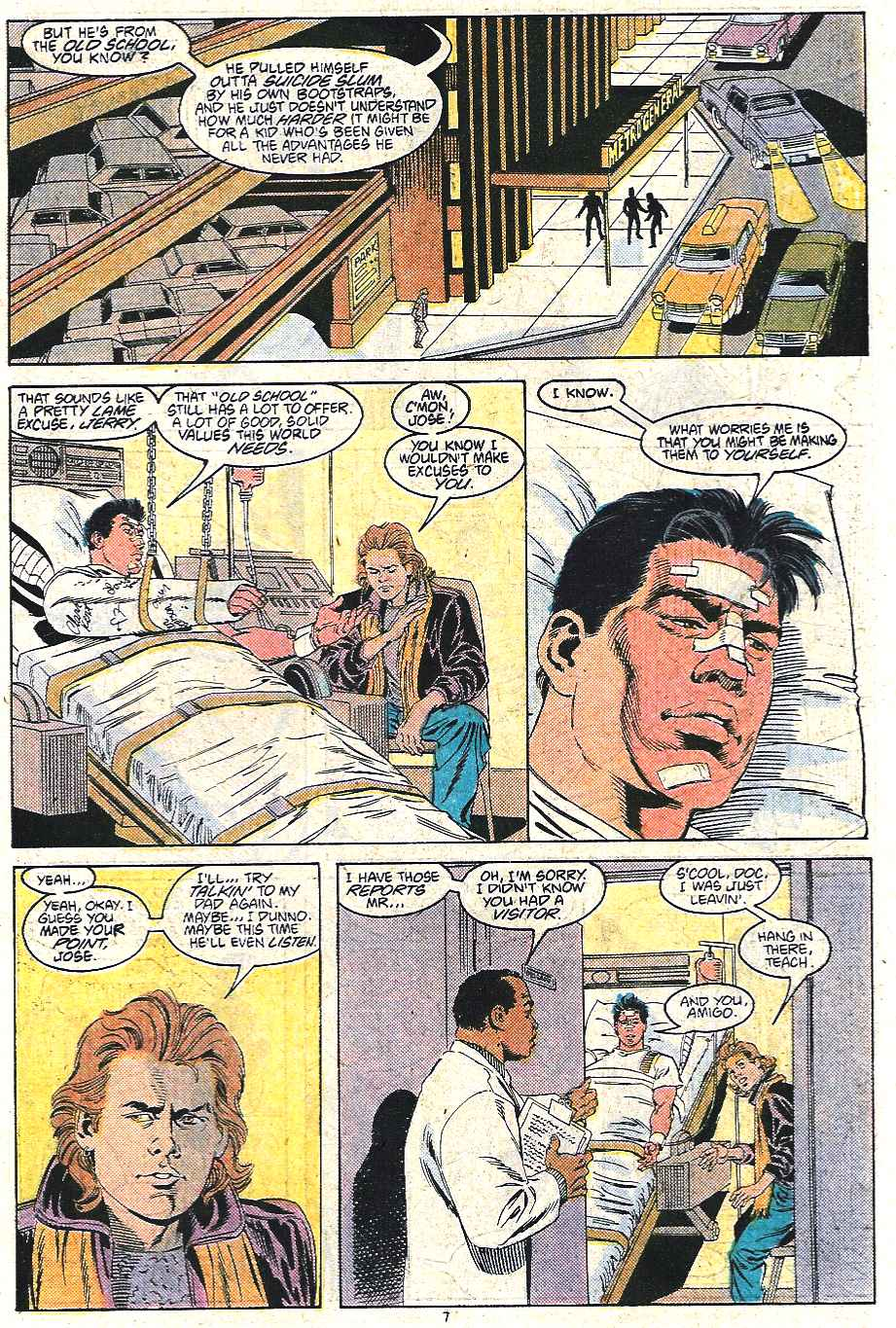 Read online Adventures of Superman (1987) comic -  Issue #440 - 8