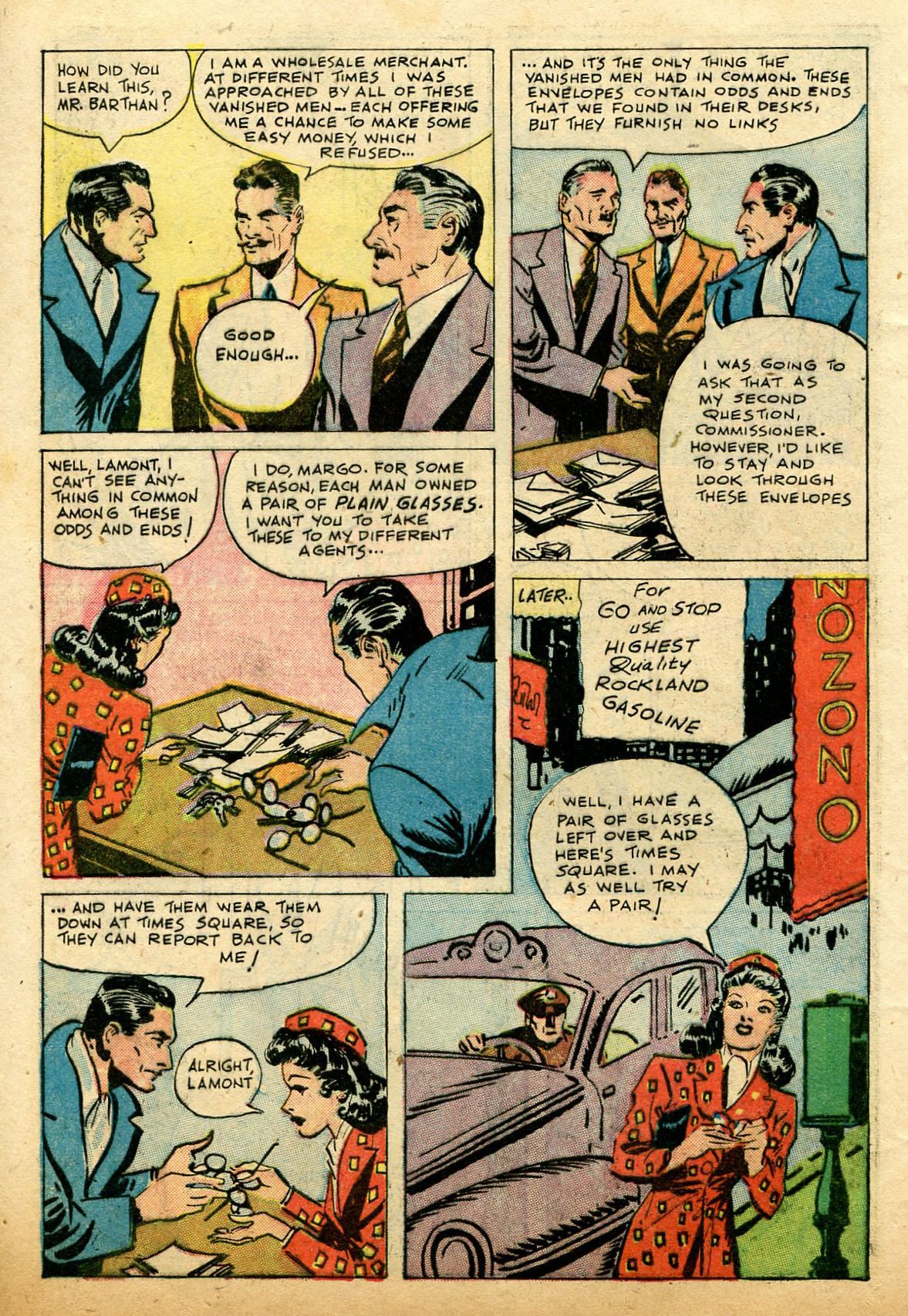 Read online Shadow Comics comic -  Issue #74 - 6
