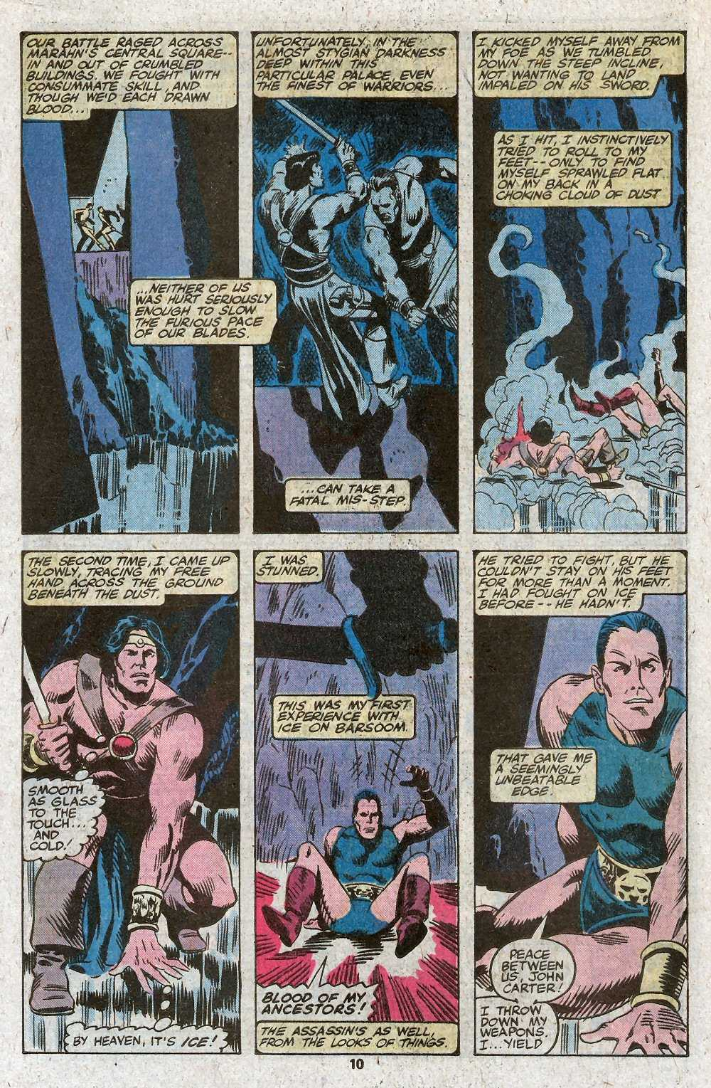 John Carter Warlord of Mars issue 27 - Page 12