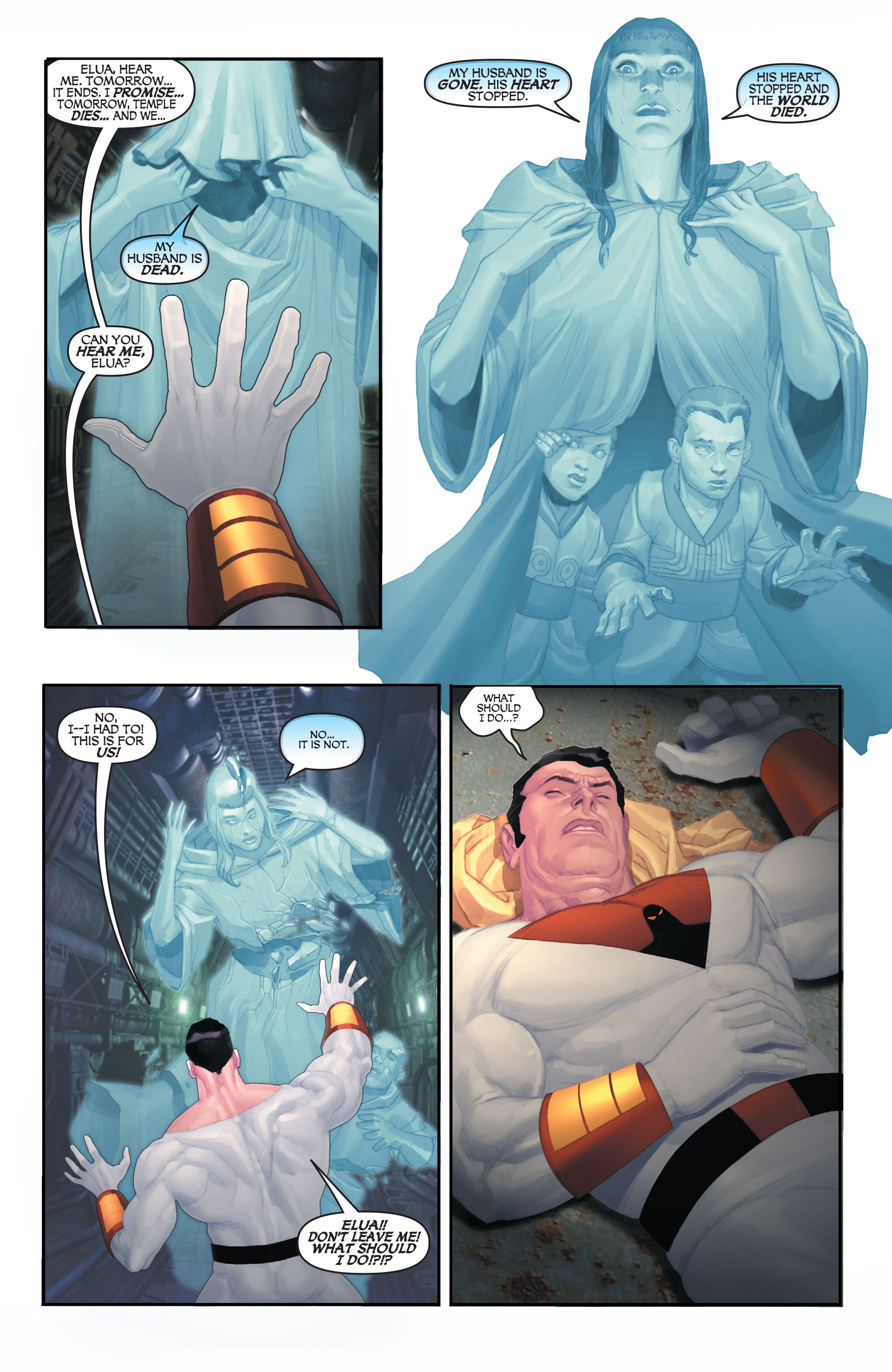 Read online Space Ghost (2016) comic -  Issue # Full - 107