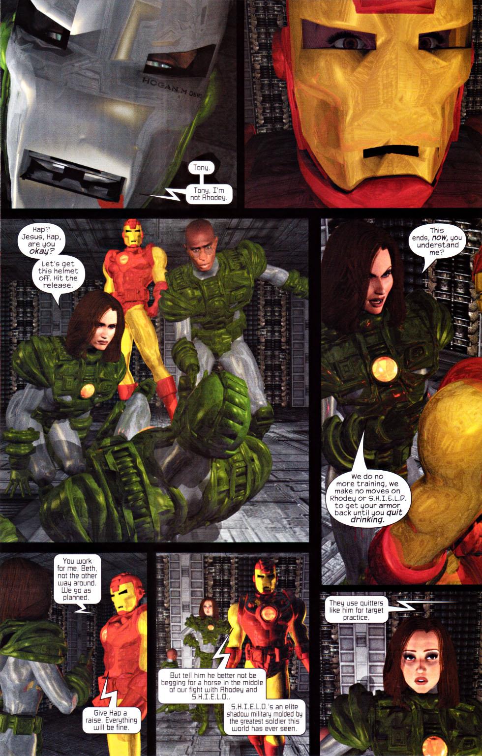 Read online U.S. War Machine 2.0 comic -  Issue #1 - 11