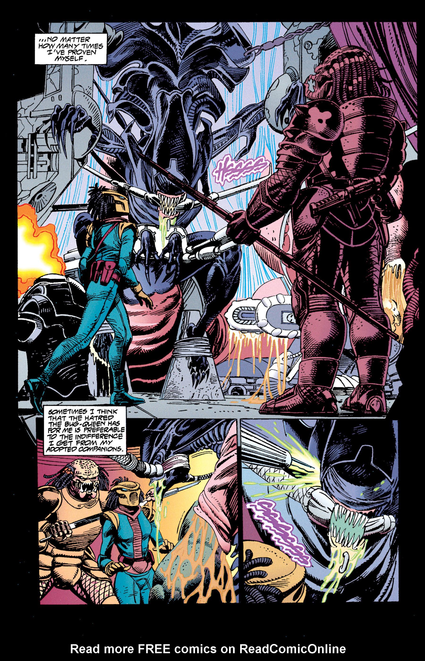 Read online Aliens vs. Predator Omnibus comic -  Issue # _TPB 1 Part 3 - 43