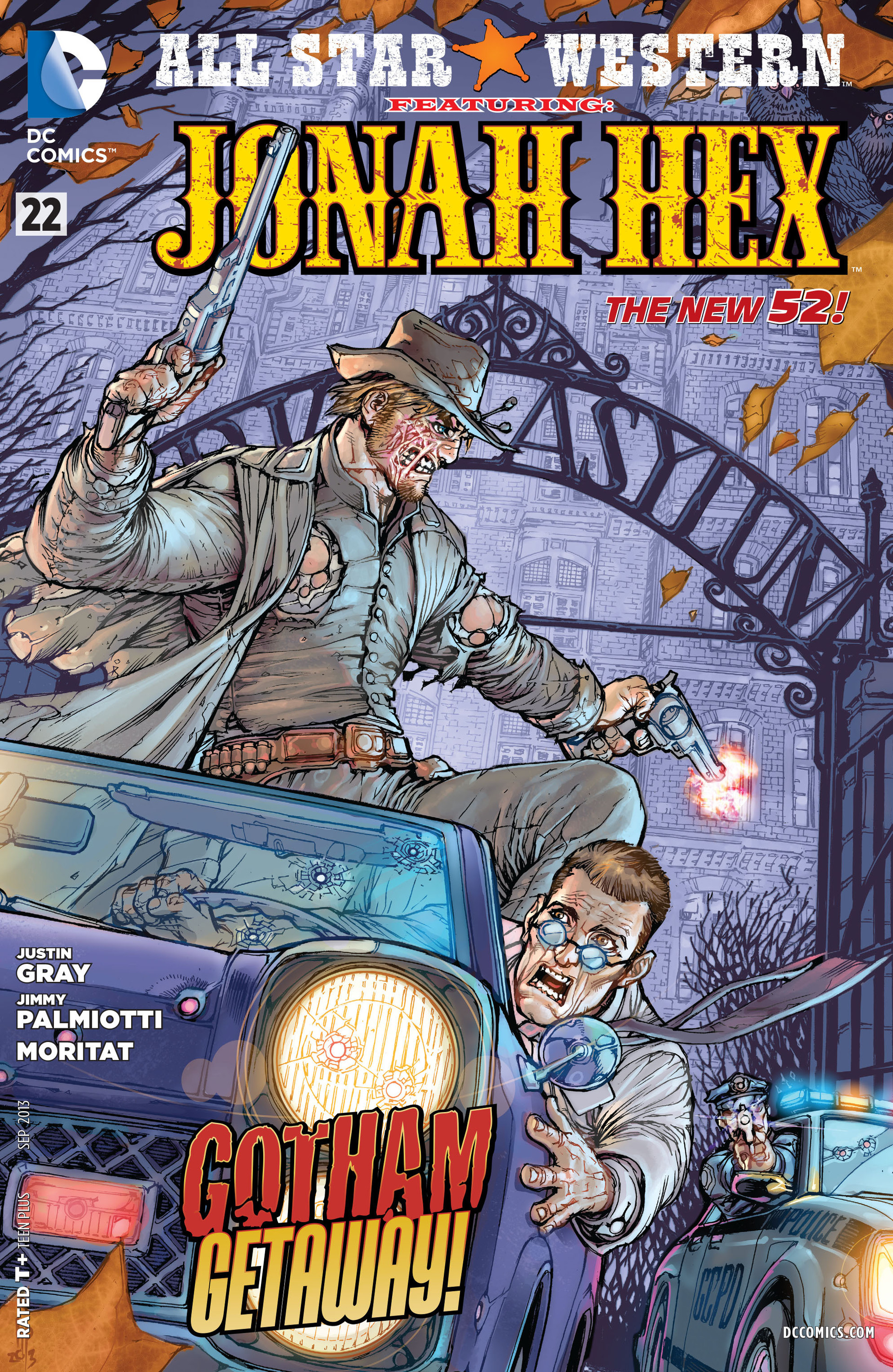 Read online All-Star Western (2011) comic -  Issue #22 - 1