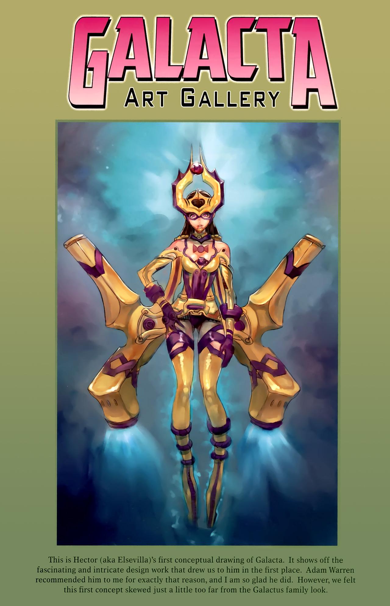 Read online Galacta: Daughter of Galactus comic -  Issue # Full - 33