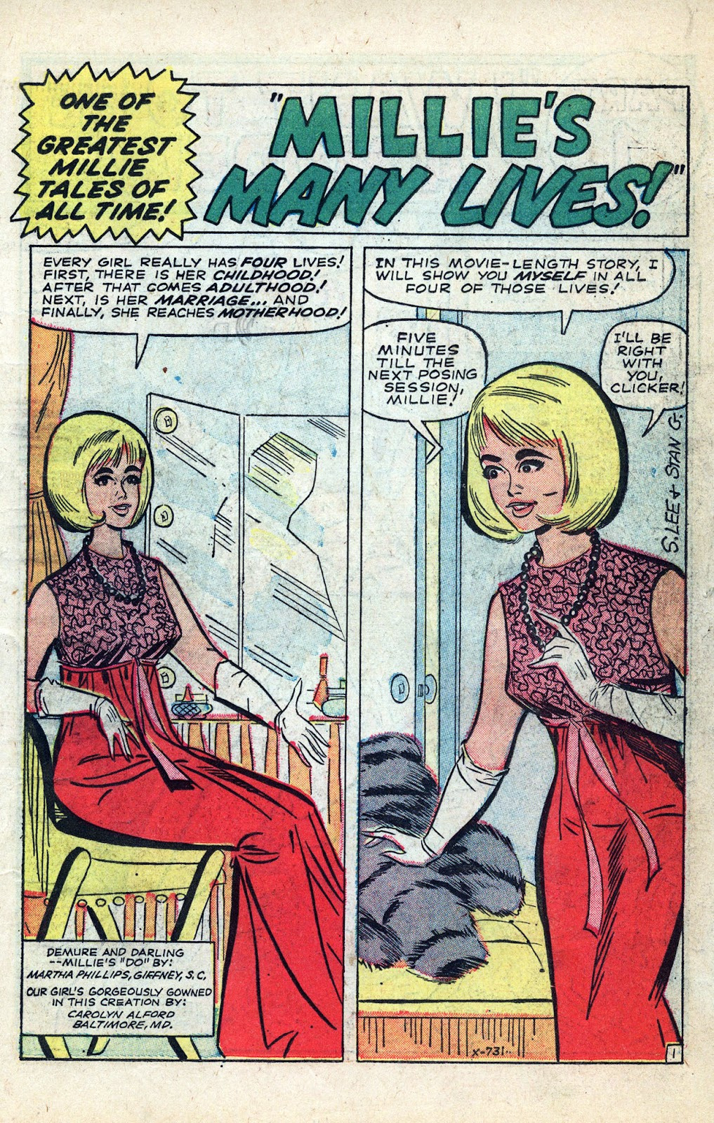 Read online Millie the Model comic -  Issue # Annual 3 - 3