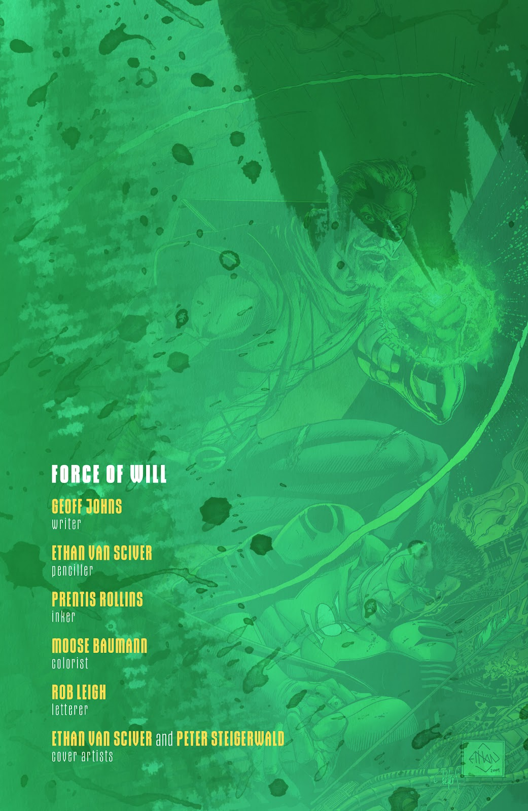 Read online Green Lantern by Geoff Johns comic -  Issue # TPB 1 (Part 1) - 90