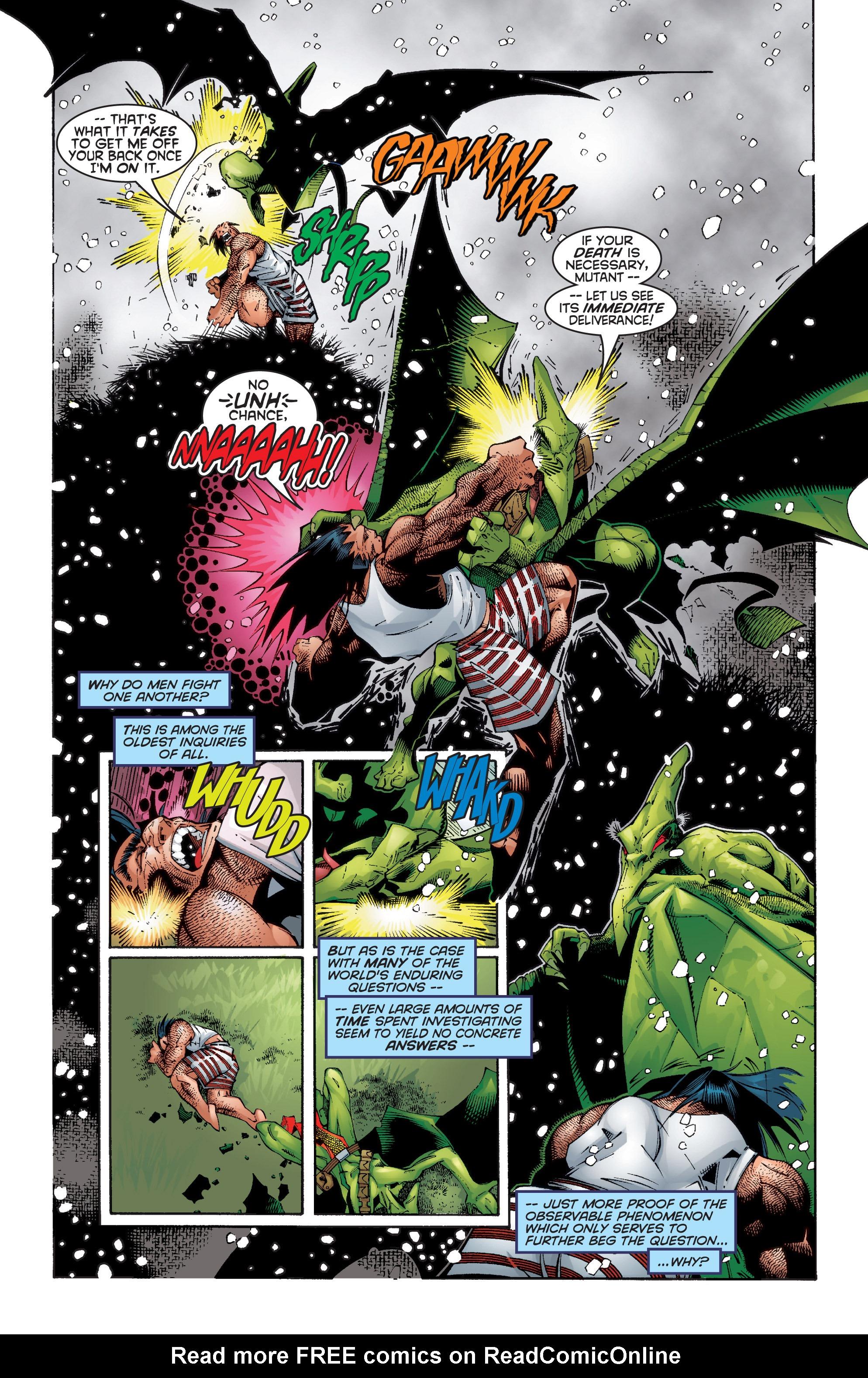 Read online Uncanny X-Men (1963) comic -  Issue #354 - 20