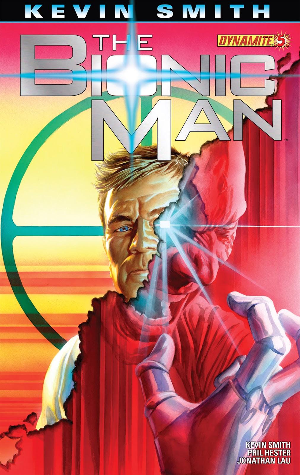 Bionic Man 5 Page 1