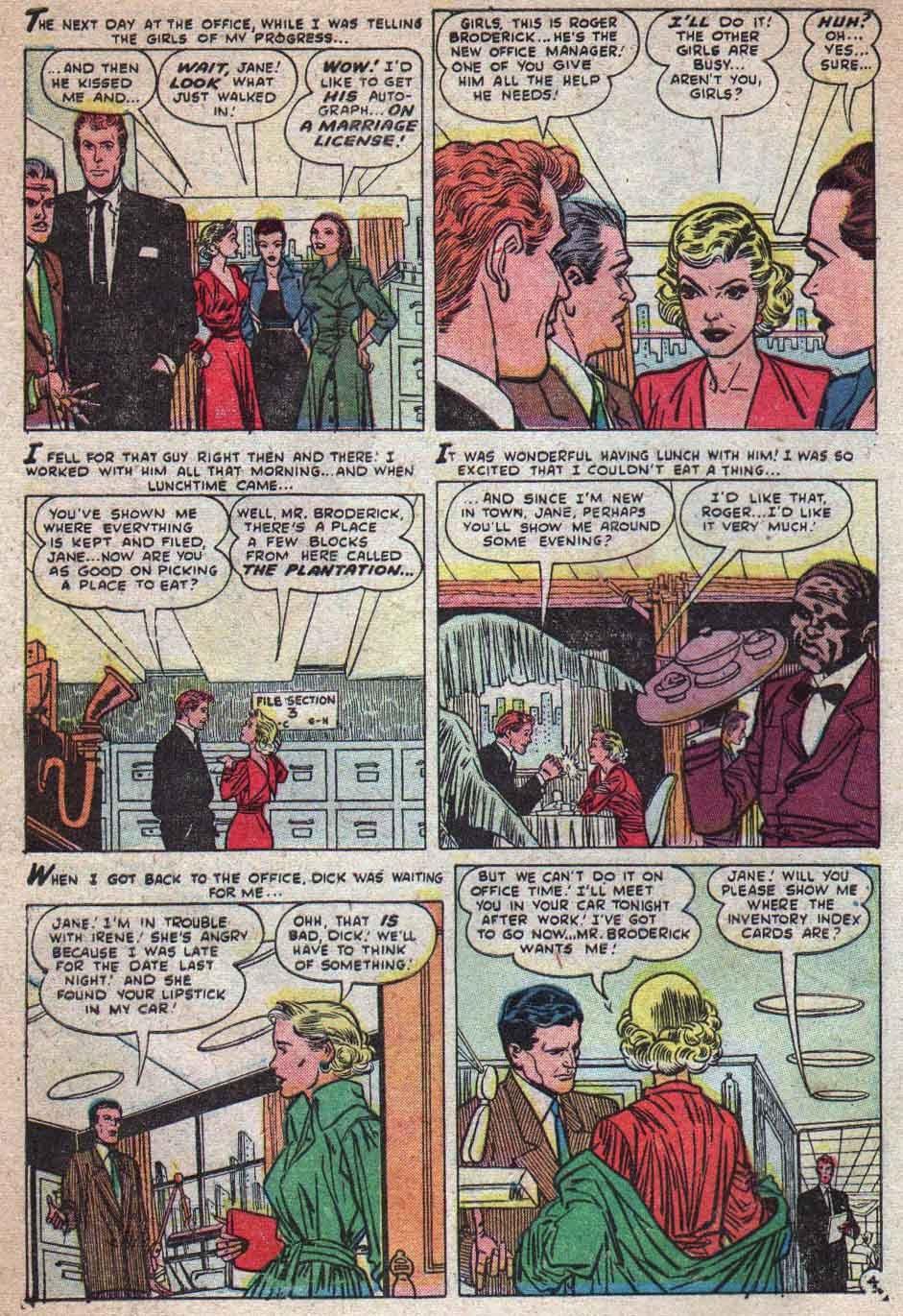 Love Romances (1949) issue 25 - Page 5