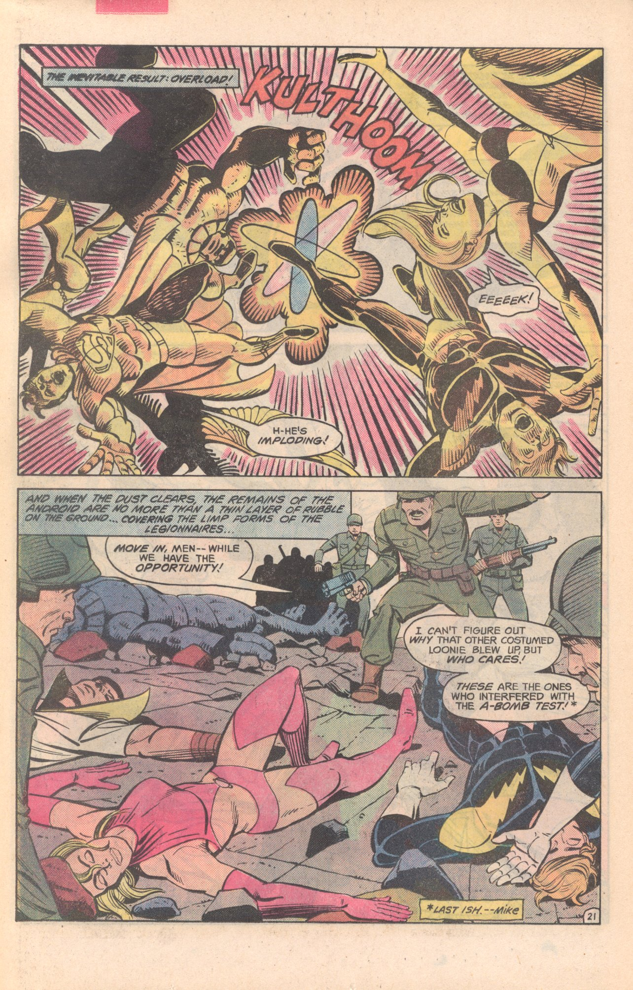 Legion of Super-Heroes (1980) 281 Page 21