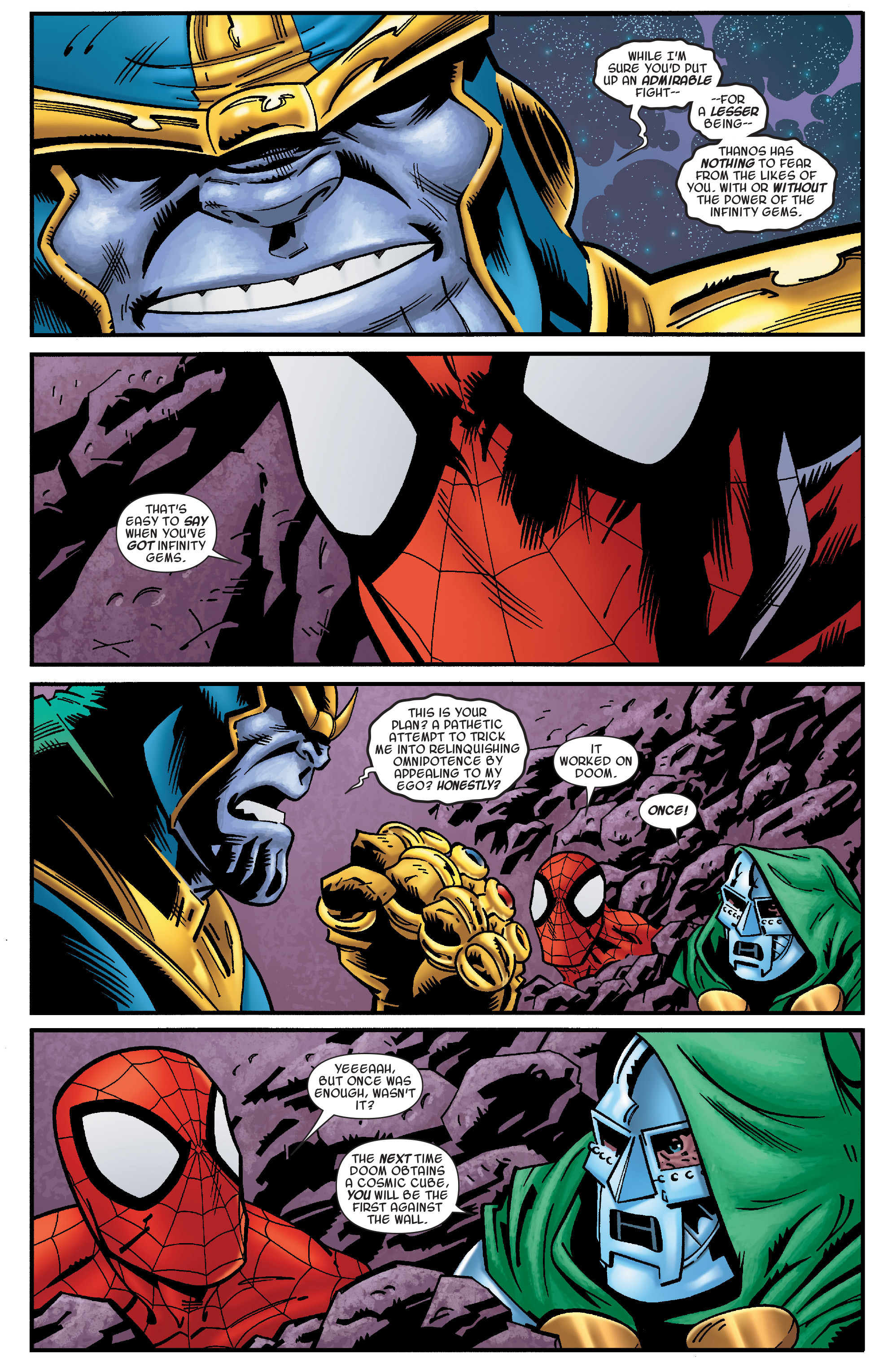 Read online Avengers & the Infinity Gauntlet comic -  Issue #4 - 5