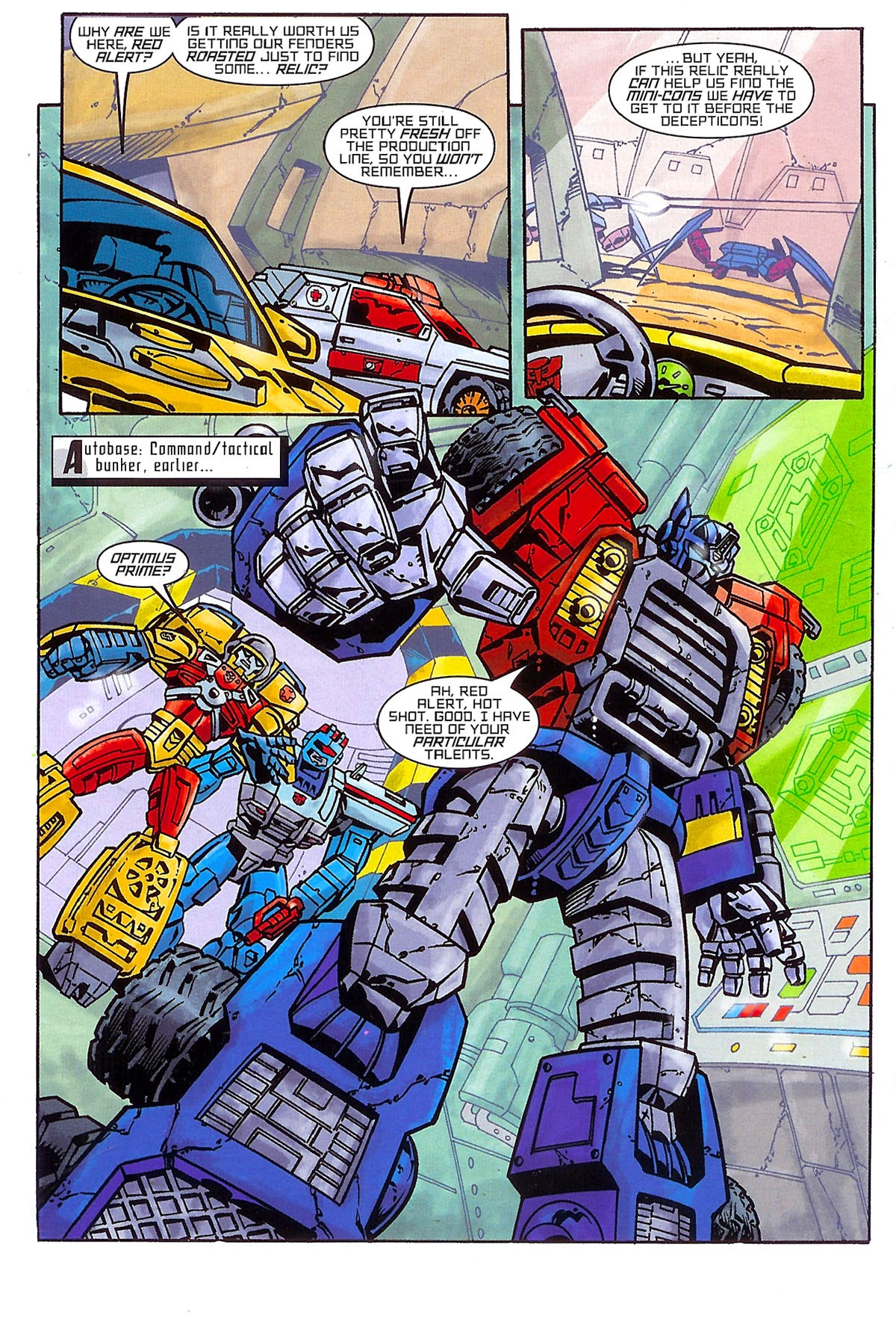 Read online Transformers: The Balance of Power comic -  Issue # Full - 5