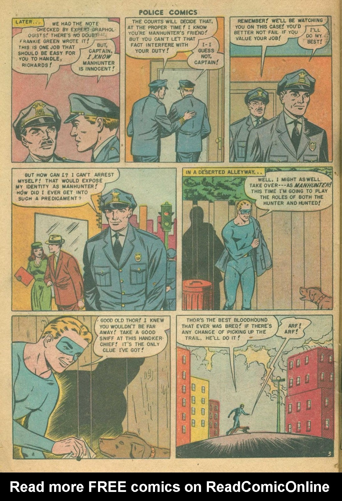 Police Comics issue 99 - Page 30