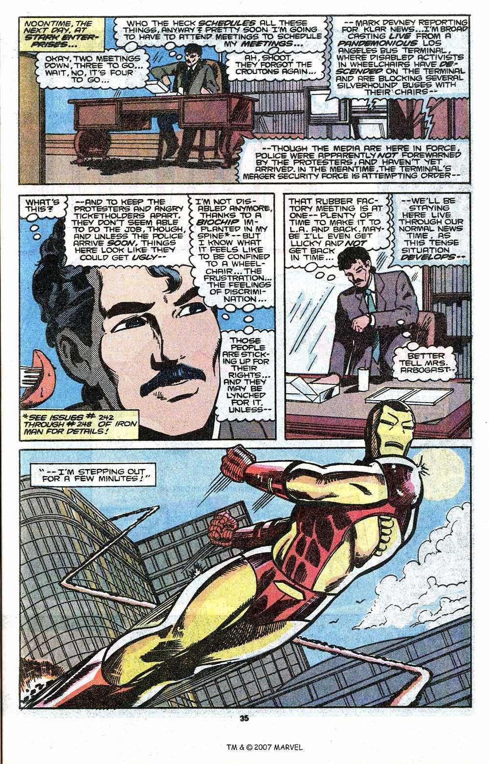 Iron Man Annual issue 11 - Page 37