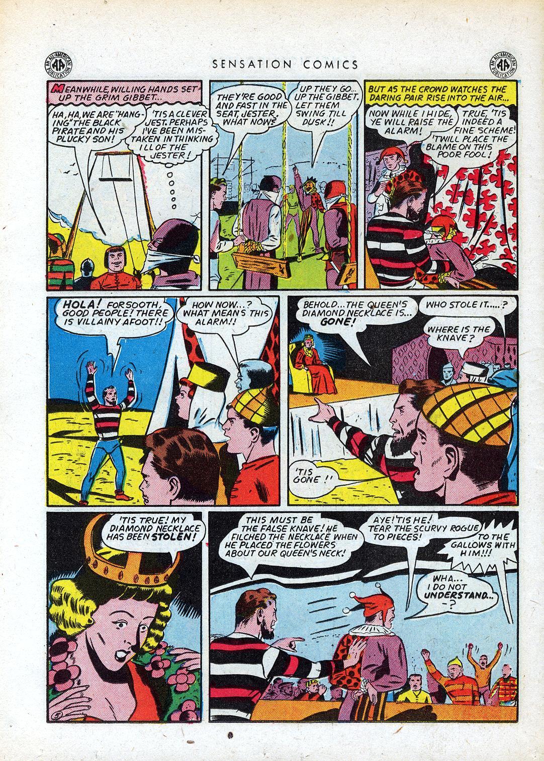 Read online Sensation (Mystery) Comics comic -  Issue #41 - 38