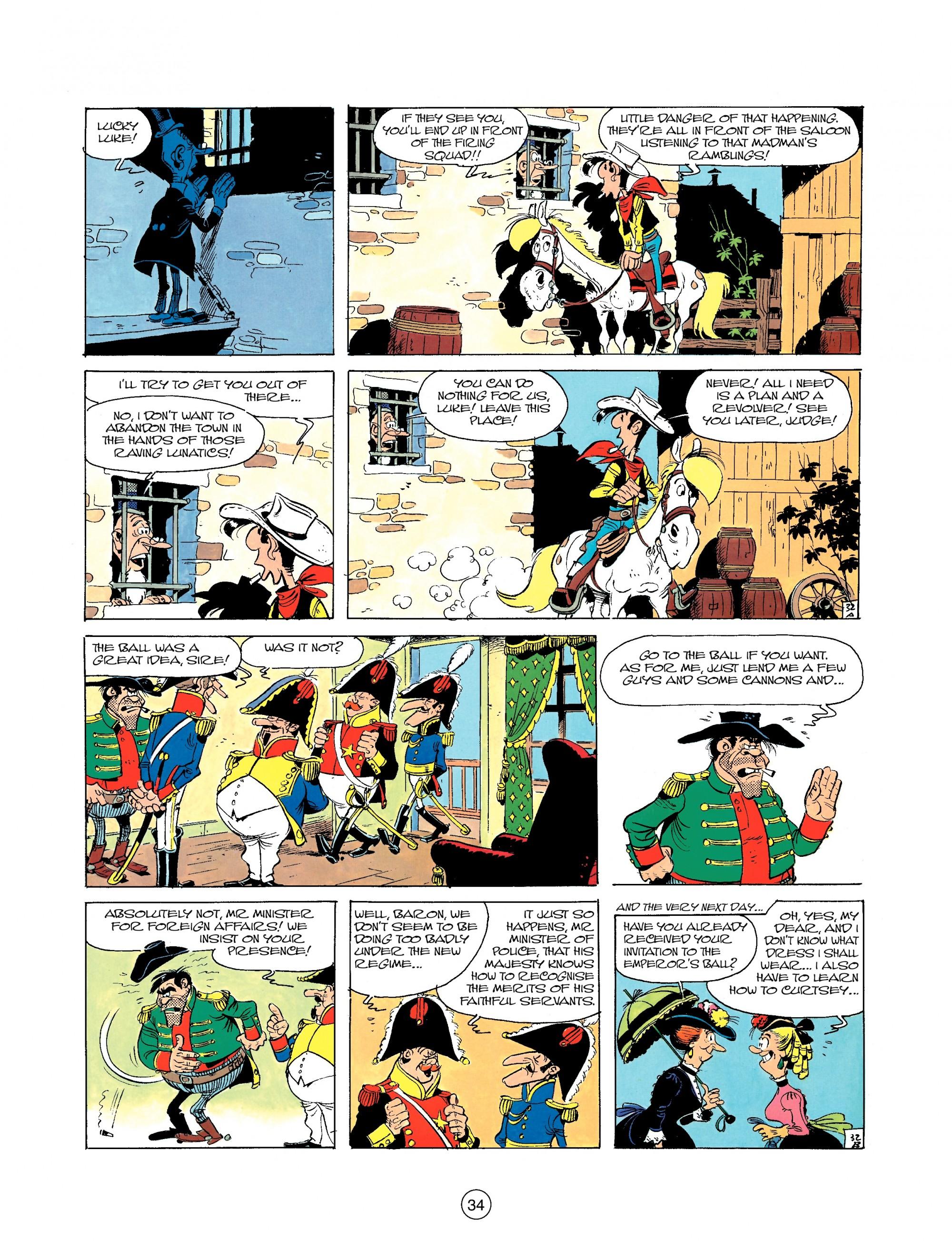 Read online A Lucky Luke Adventure comic -  Issue #22 - 34