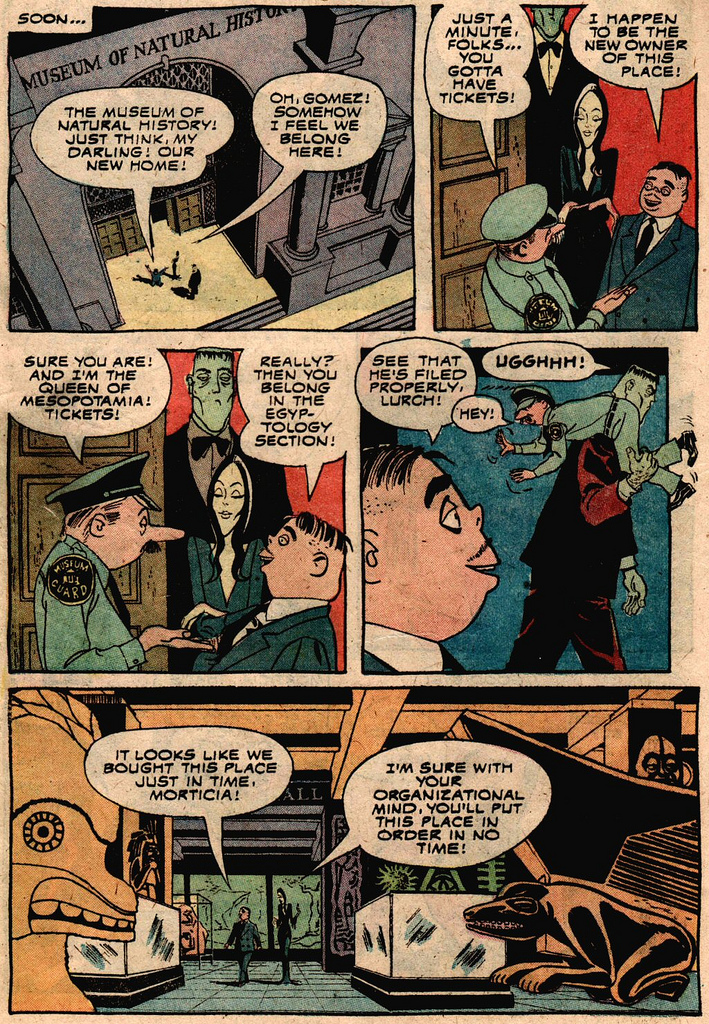 Read online Addams Family comic -  Issue #2 - 9