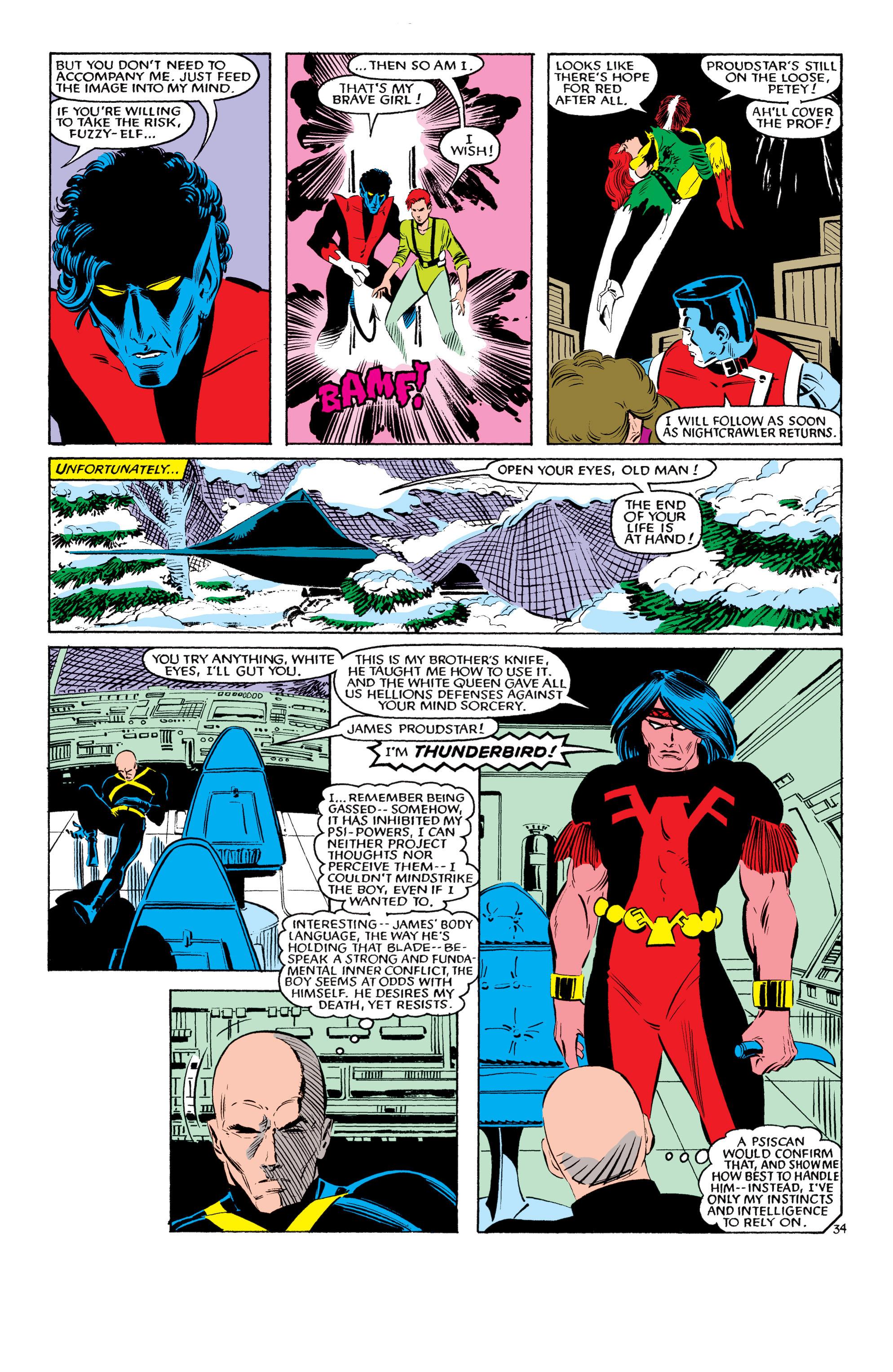 Read online Uncanny X-Men (1963) comic -  Issue #193 - 35
