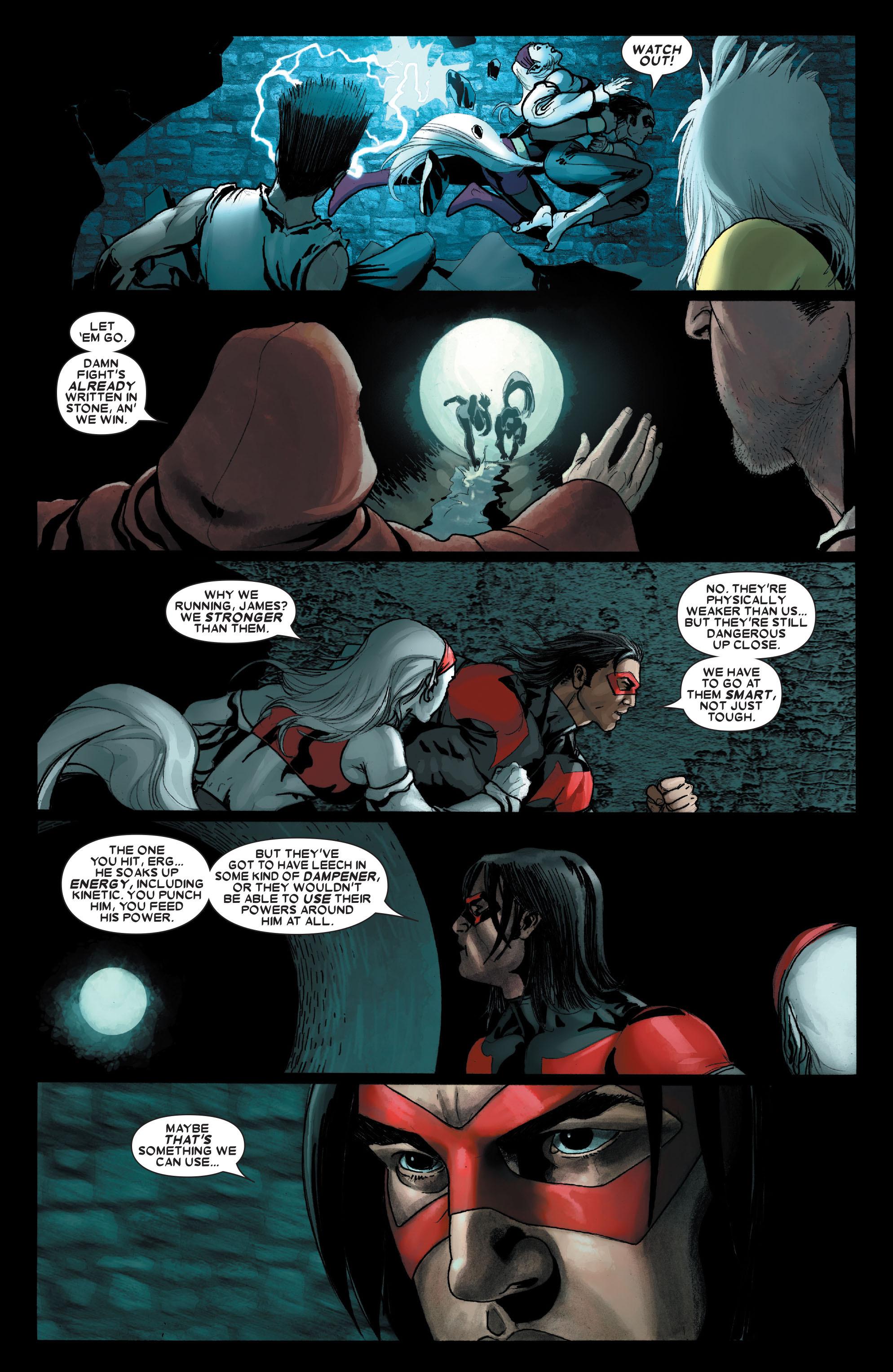 Read online Uncanny X-Men (1963) comic -  Issue #490 - 9
