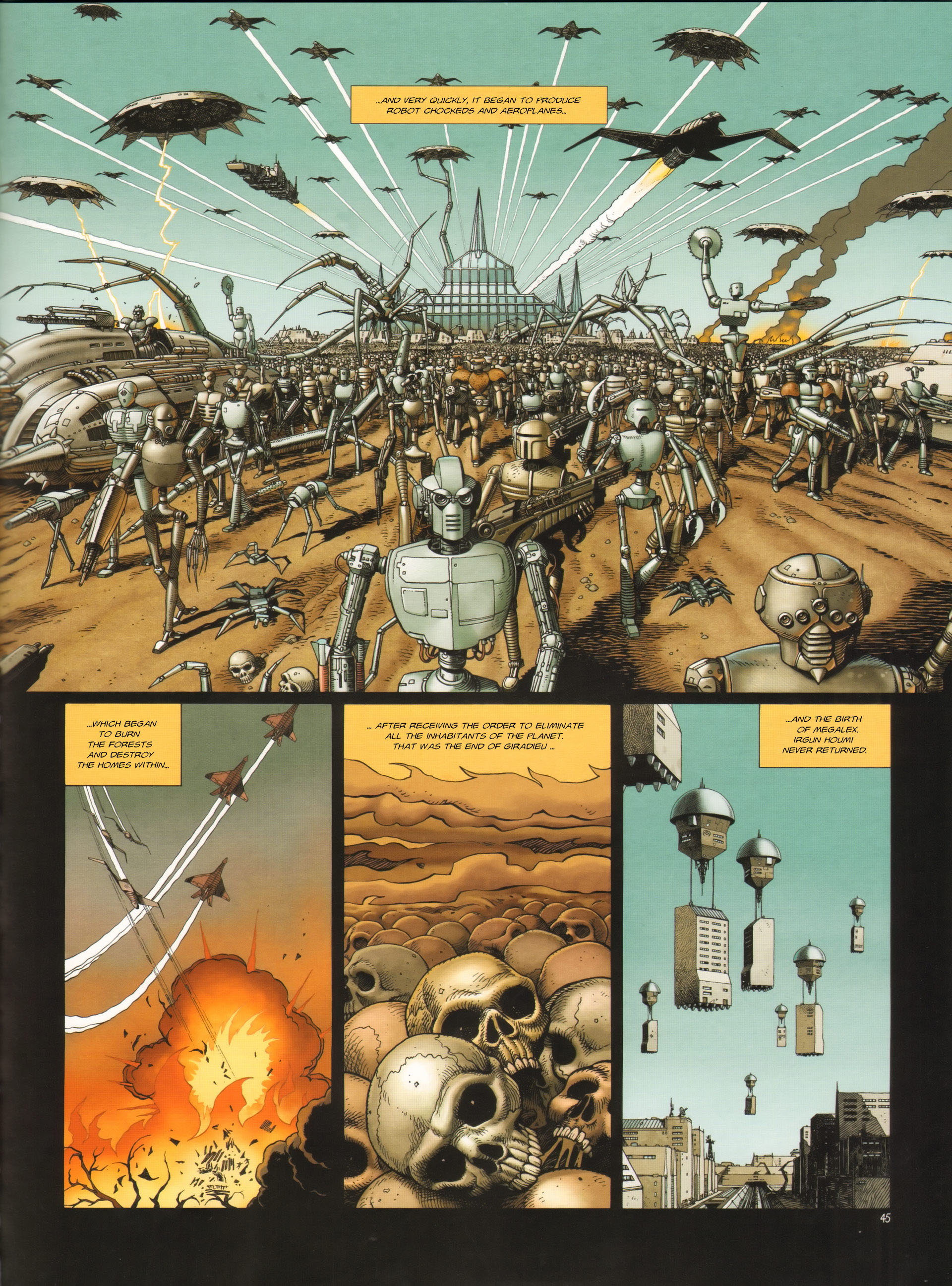 Read online Megalex (2014) comic -  Issue #3 - 48