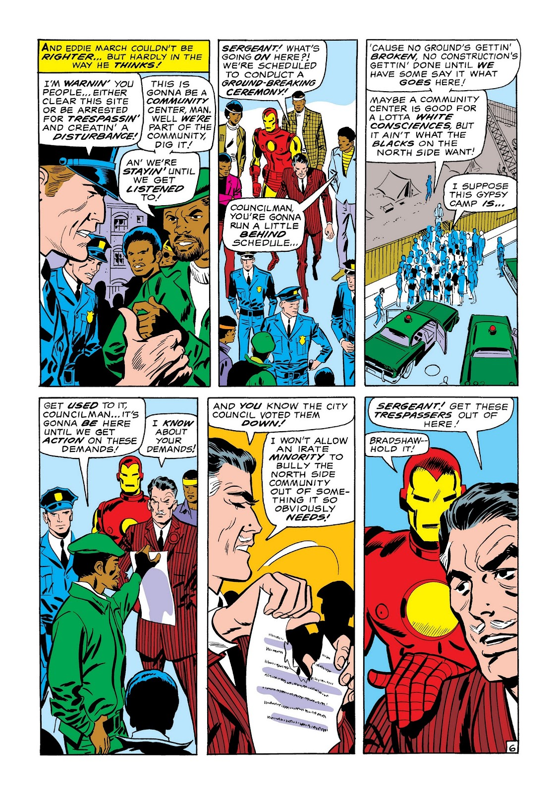 Read online Marvel Masterworks: The Invincible Iron Man comic -  Issue # TPB 7 (Part 1) - 35